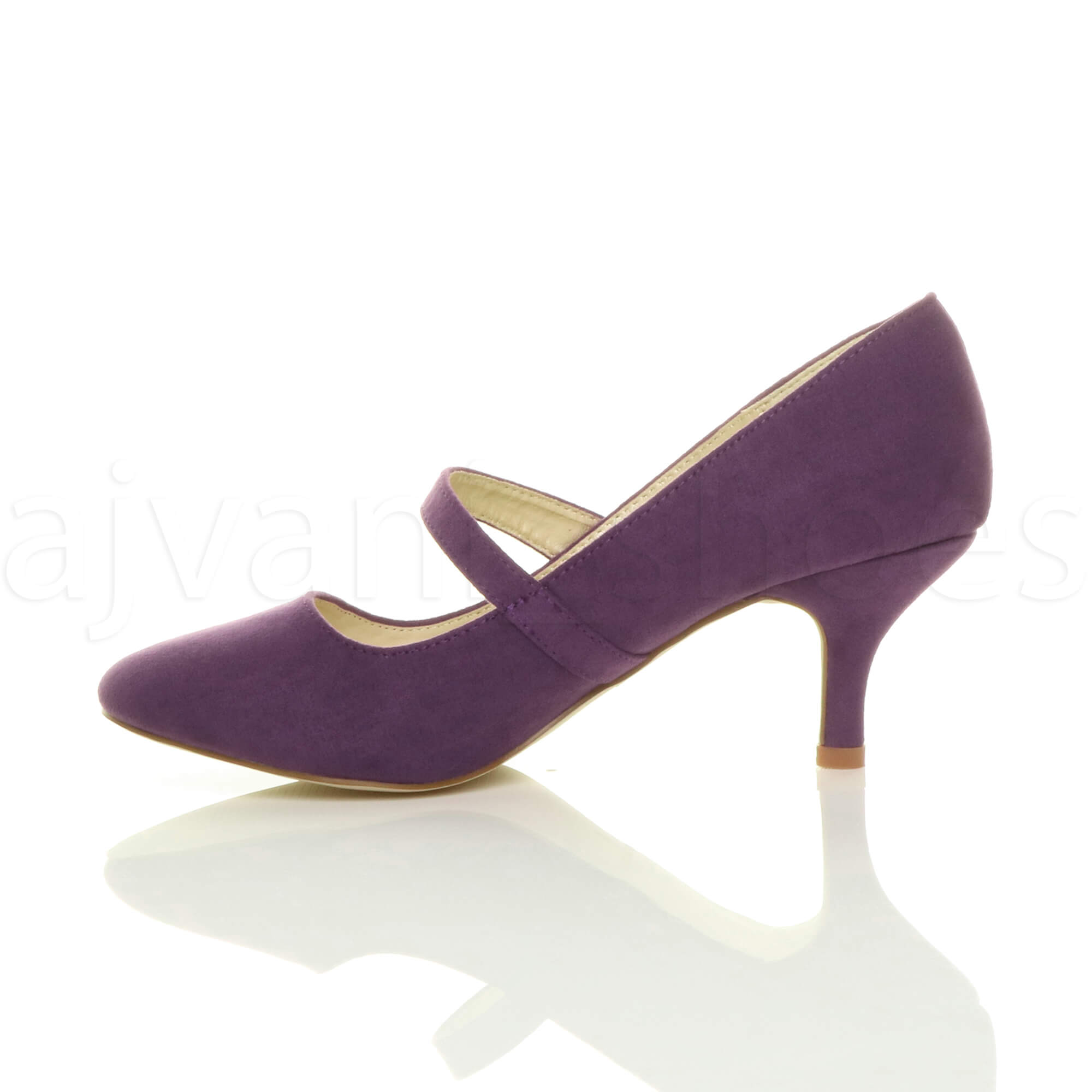 WOMENS-LADIES-LOW-MID-HEEL-MARY-JANE-STRAP-WORK-PARTY-COURT-SHOES-PUMPS-SIZE