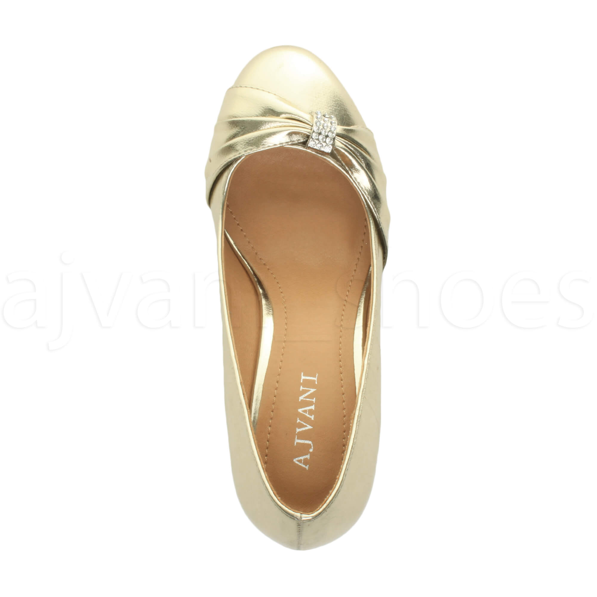 WOMENS-LADIES-MID-HEEL-RUCHED-DIAMANTE-WEDDING-PROM-EVENING-COURT-SHOES-SIZE thumbnail 32