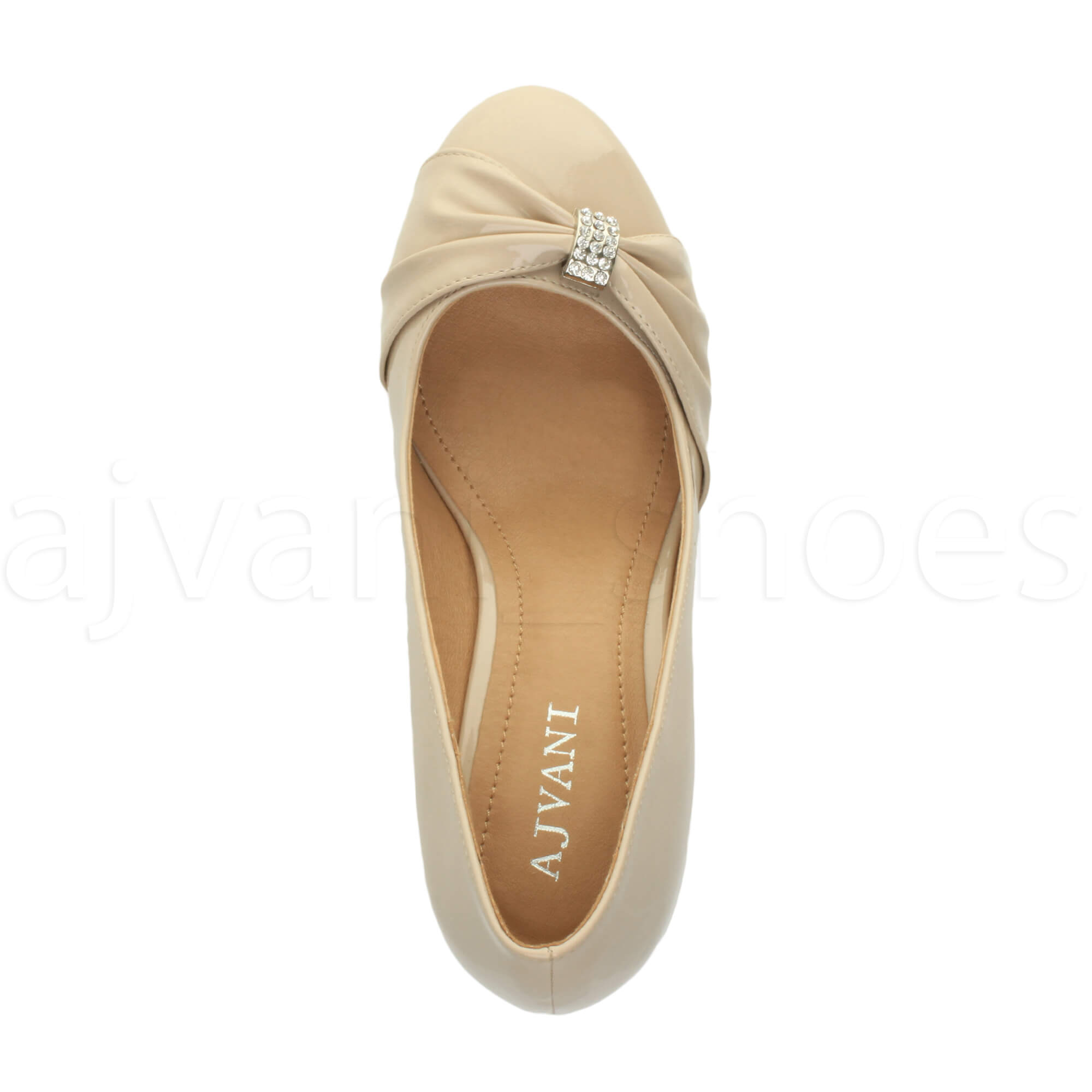WOMENS-LADIES-MID-HEEL-RUCHED-DIAMANTE-WEDDING-PROM-EVENING-COURT-SHOES-SIZE thumbnail 72