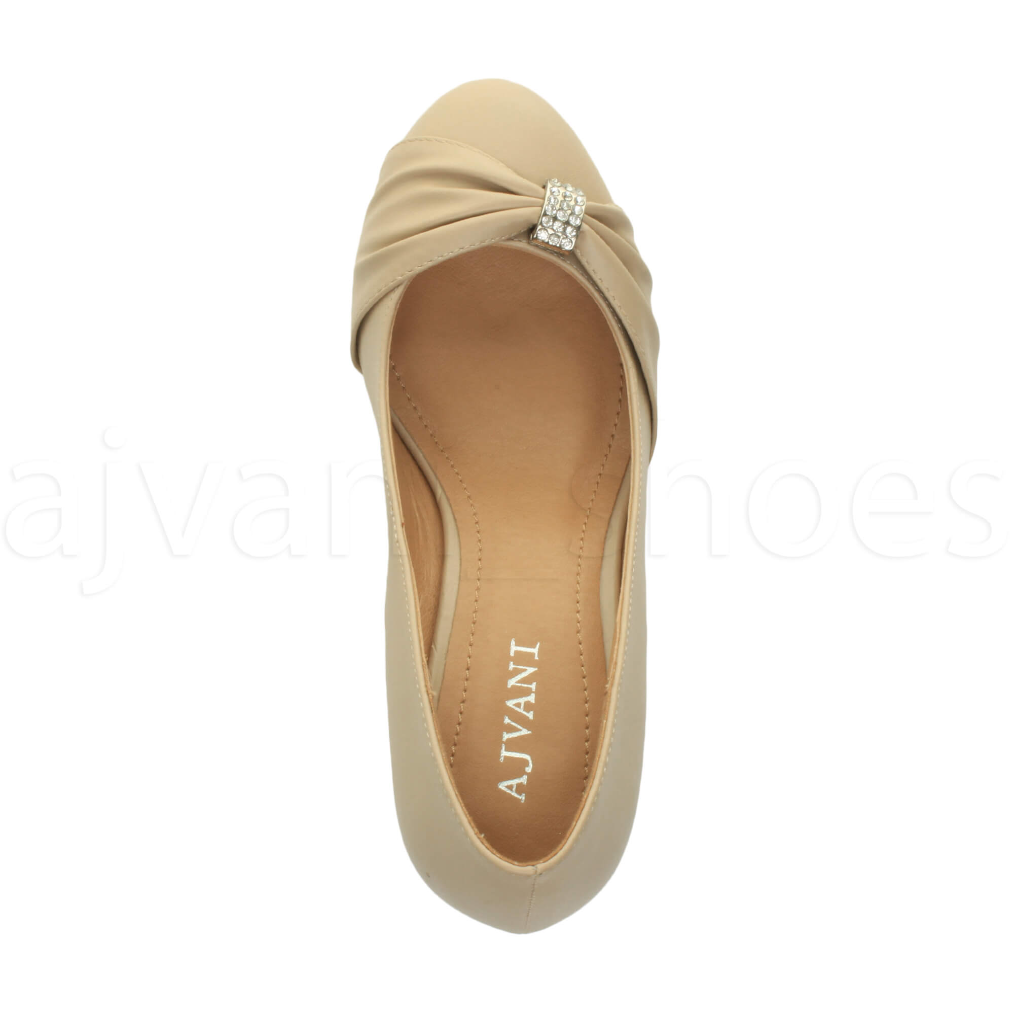 WOMENS-LADIES-MID-HEEL-RUCHED-DIAMANTE-WEDDING-PROM-EVENING-COURT-SHOES-SIZE thumbnail 64