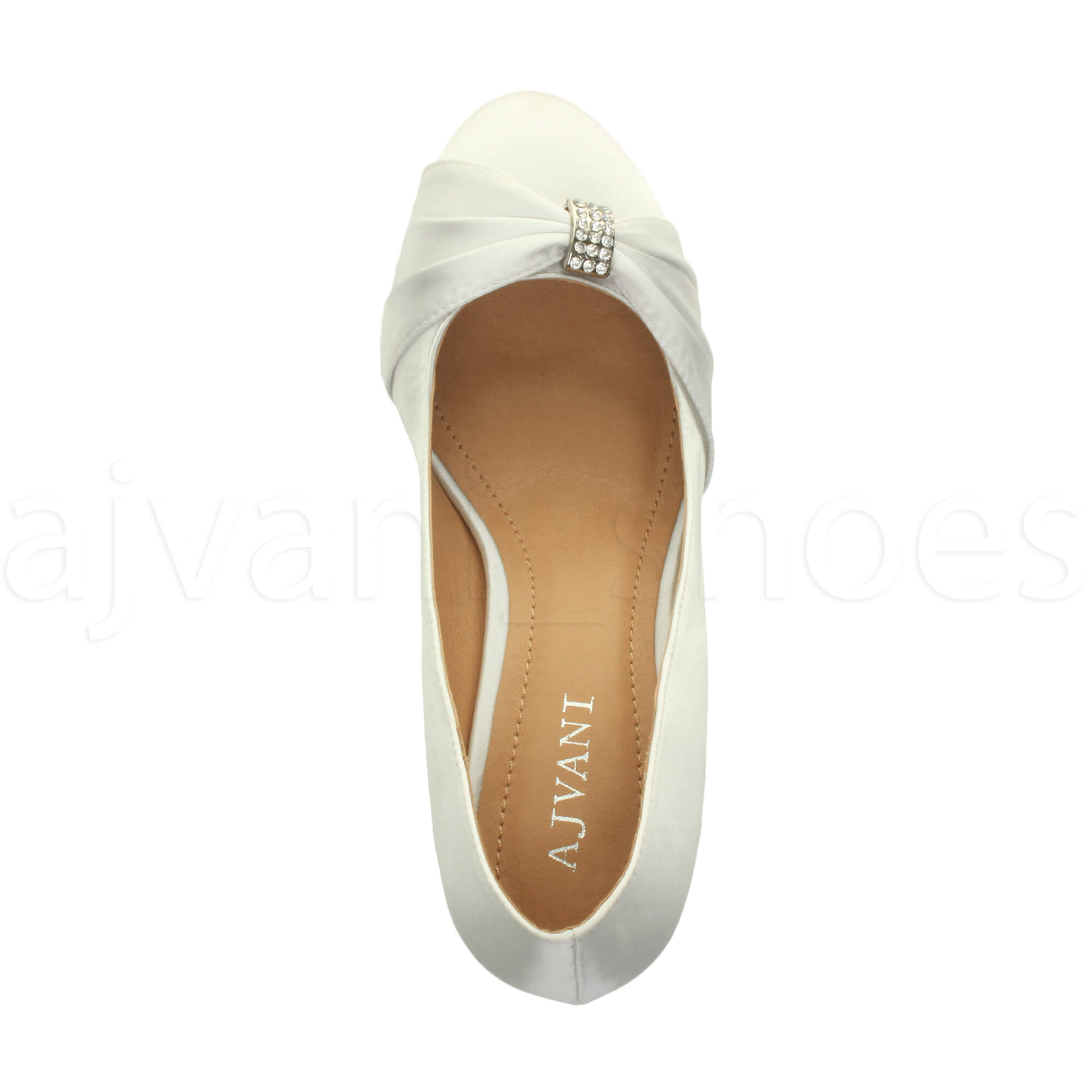 WOMENS-LADIES-MID-HEEL-RUCHED-DIAMANTE-WEDDING-PROM-EVENING-COURT-SHOES-SIZE thumbnail 112