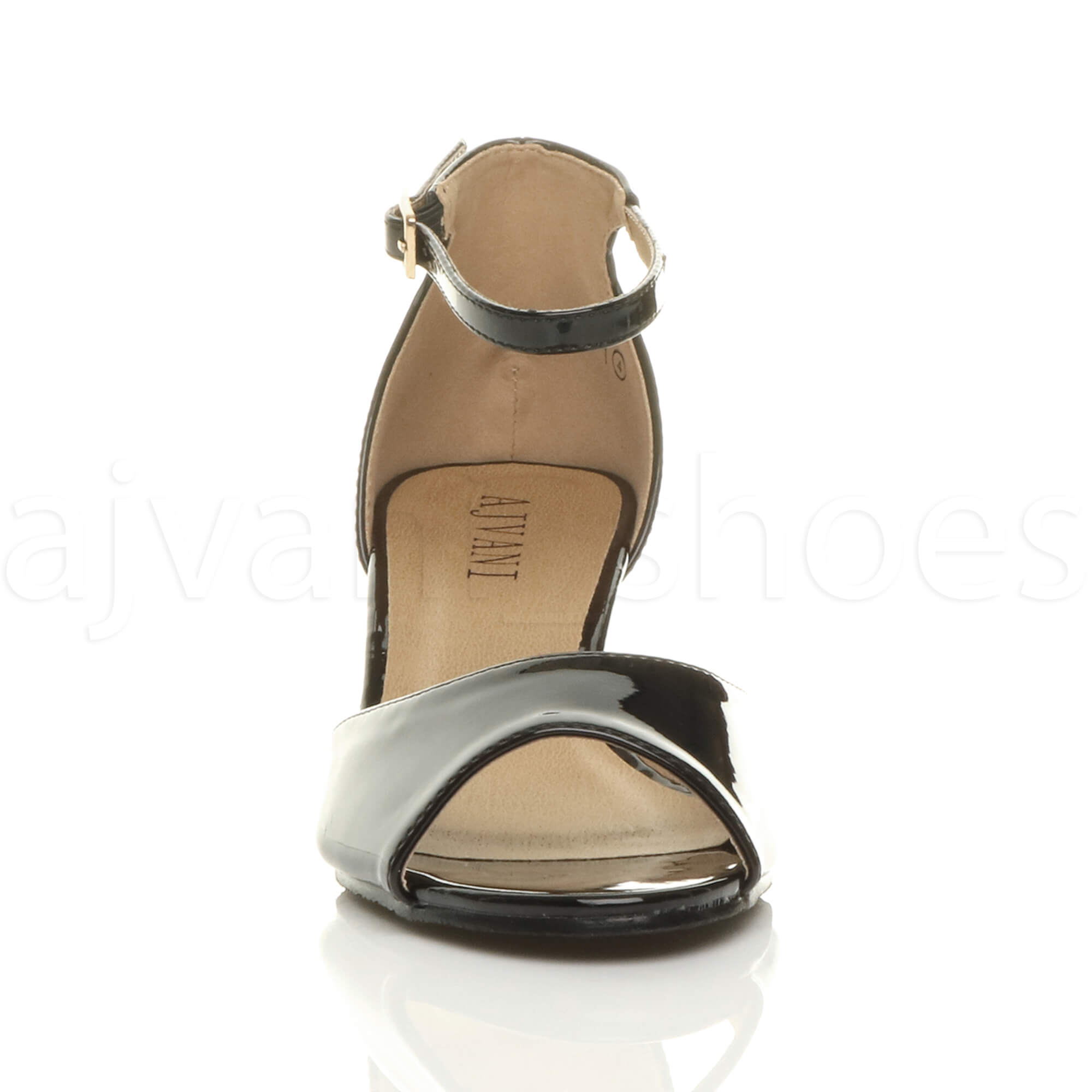 WOMENS-LADIES-LOW-MID-WEDGE-HEEL-ANKLE-STRAP-SMART-CASUAL-EVENING-SANDALS-SIZE thumbnail 15