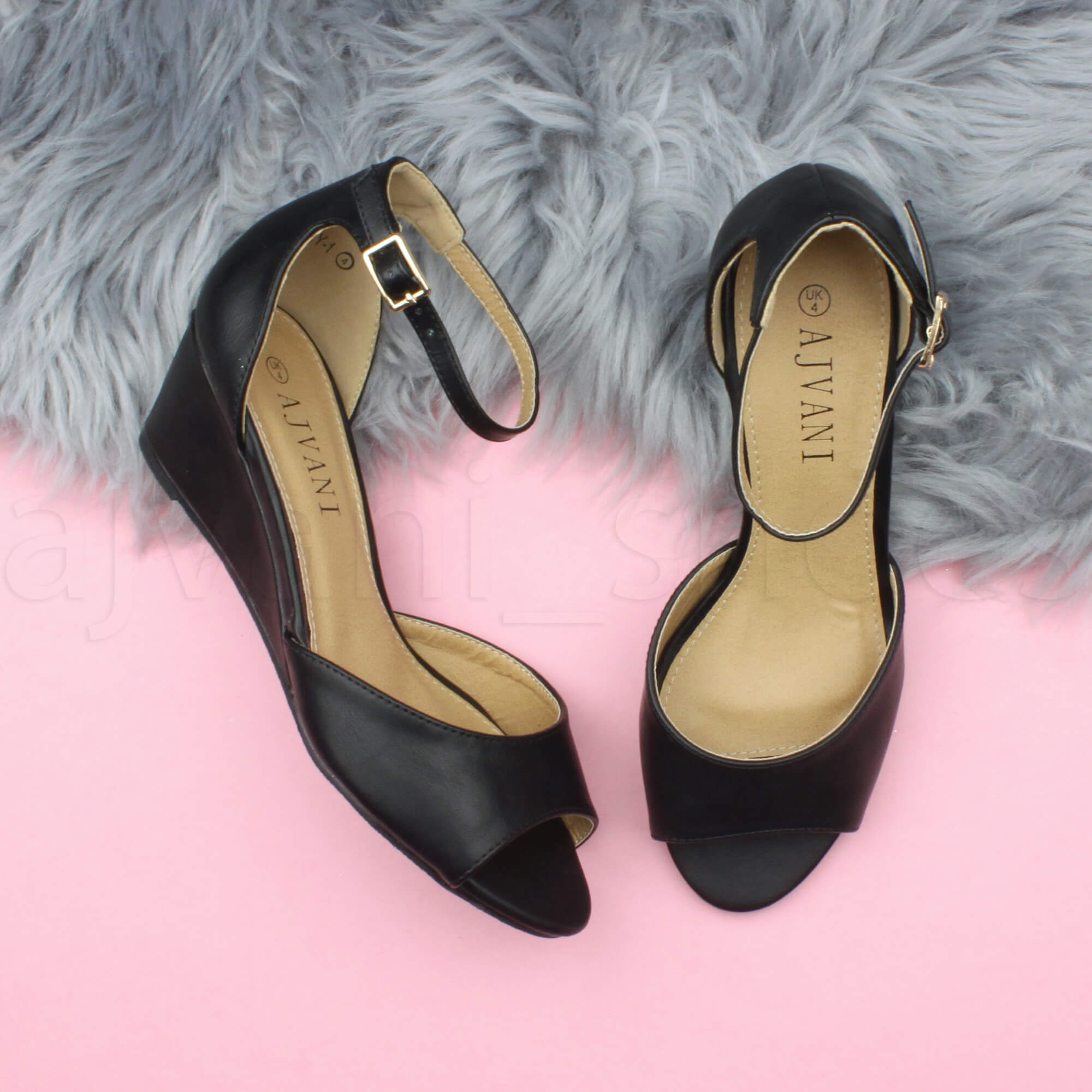 WOMENS-LADIES-LOW-MID-WEDGE-HEEL-ANKLE-STRAP-SMART-CASUAL-EVENING-SANDALS-SIZE thumbnail 5