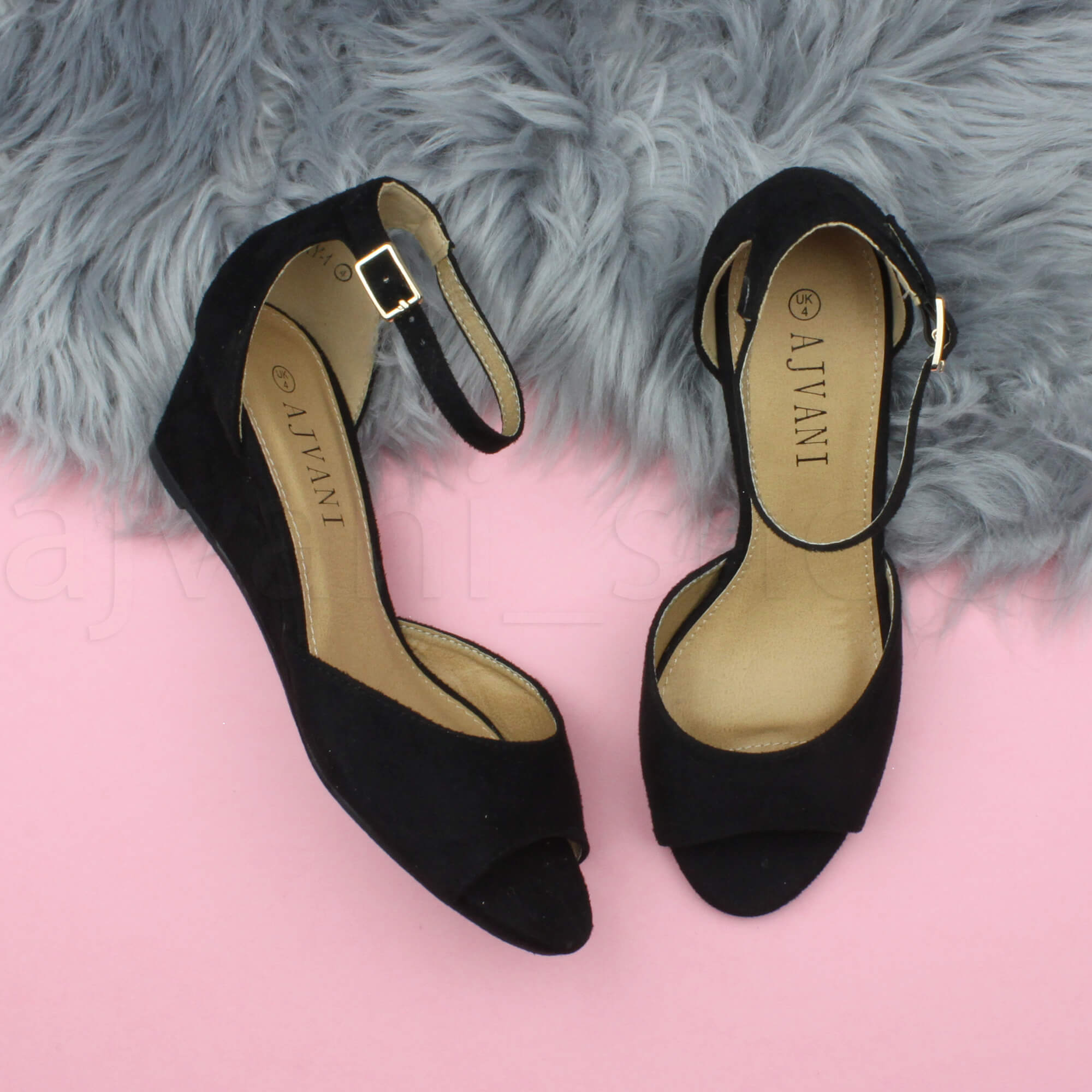 WOMENS-LADIES-LOW-MID-WEDGE-HEEL-ANKLE-STRAP-SMART-CASUAL-EVENING-SANDALS-SIZE thumbnail 21