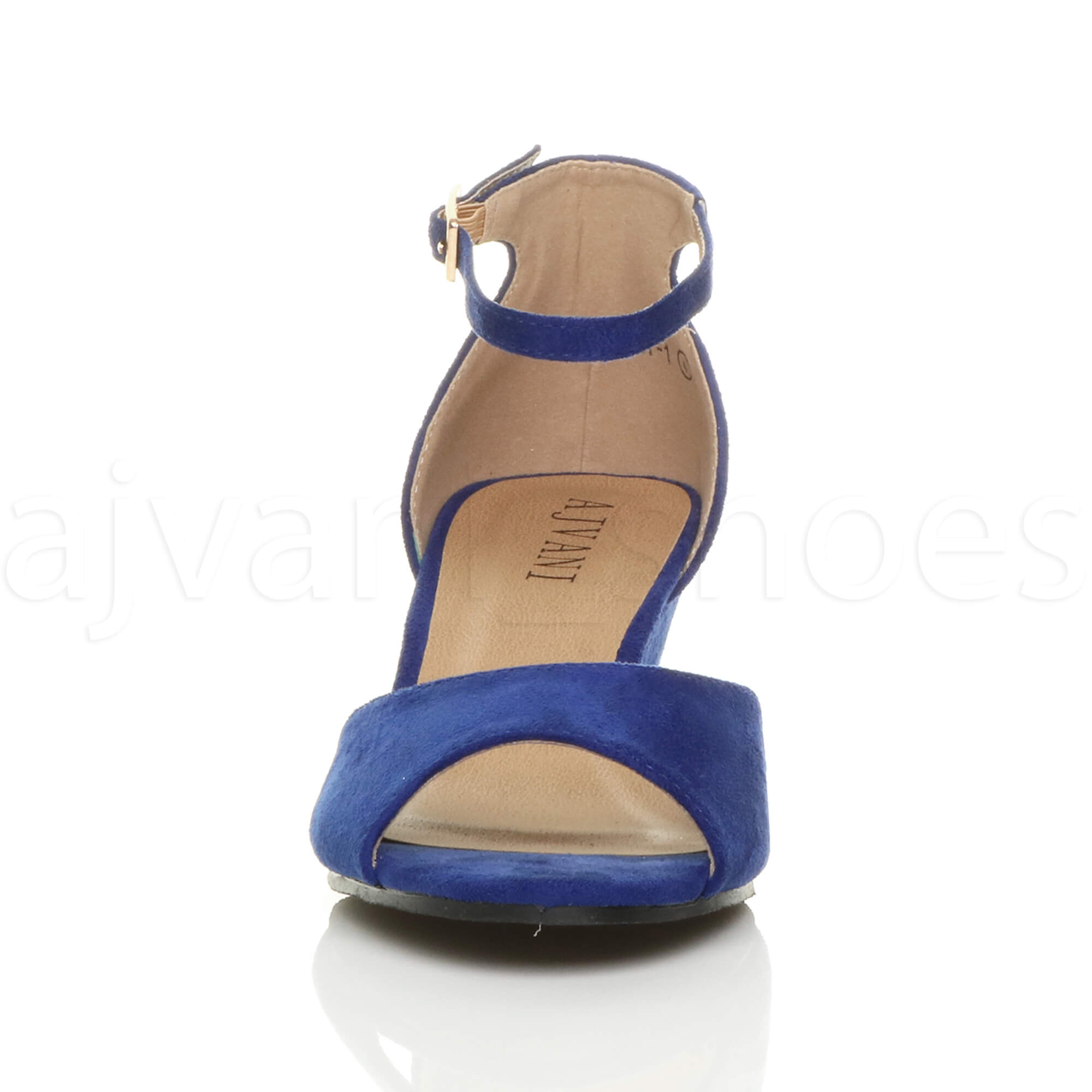 WOMENS-LADIES-LOW-MID-WEDGE-HEEL-ANKLE-STRAP-SMART-CASUAL-EVENING-SANDALS-SIZE thumbnail 31