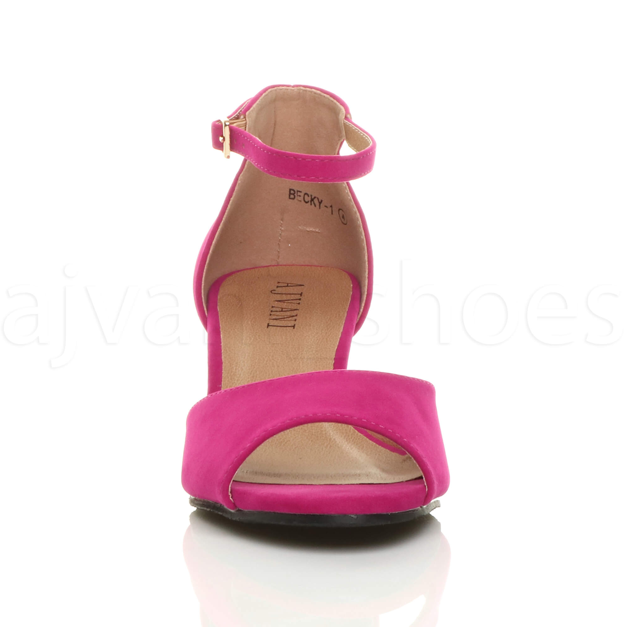 WOMENS-LADIES-LOW-MID-WEDGE-HEEL-ANKLE-STRAP-SMART-CASUAL-EVENING-SANDALS-SIZE thumbnail 47
