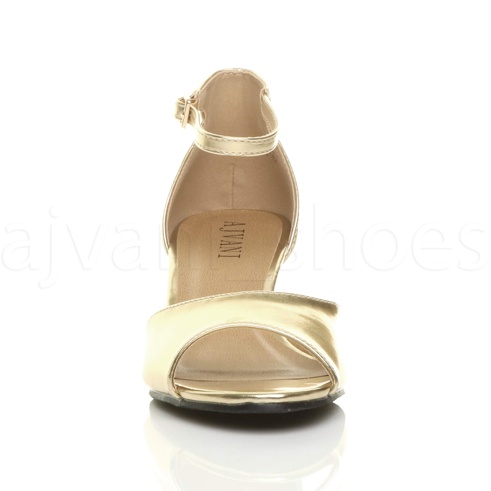 WOMENS-LADIES-LOW-MID-WEDGE-HEEL-ANKLE-STRAP-SMART-CASUAL-EVENING-SANDALS-SIZE thumbnail 63