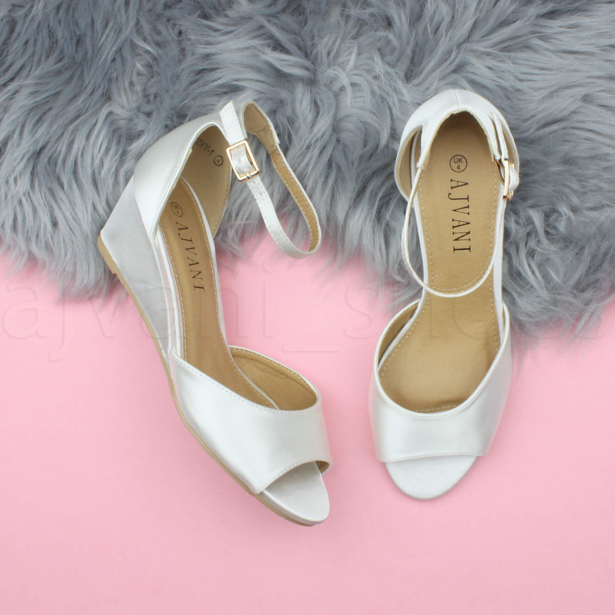 WOMENS-LADIES-LOW-MID-WEDGE-HEEL-ANKLE-STRAP-SMART-CASUAL-EVENING-SANDALS-SIZE thumbnail 69