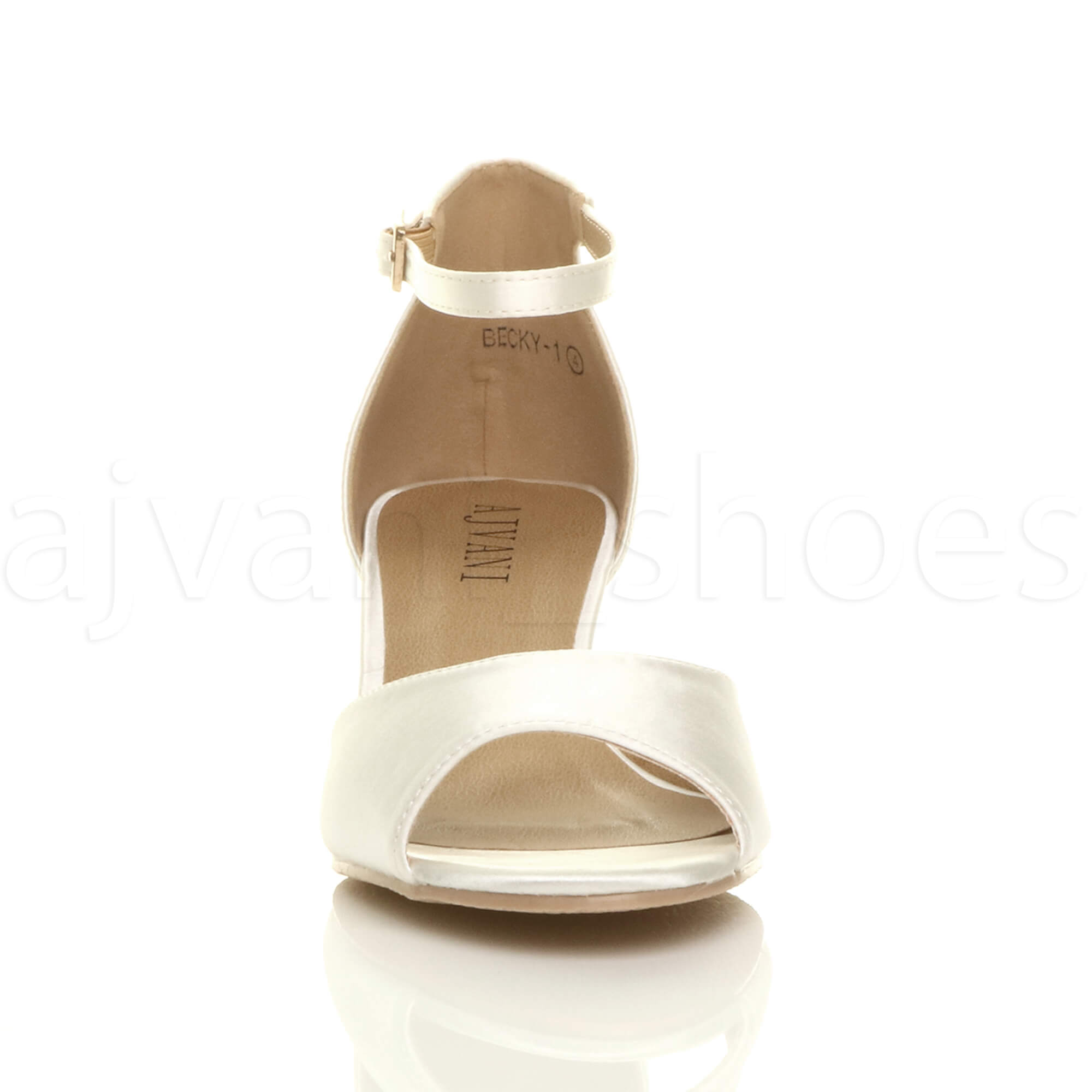 WOMENS-LADIES-LOW-MID-WEDGE-HEEL-ANKLE-STRAP-SMART-CASUAL-EVENING-SANDALS-SIZE thumbnail 71