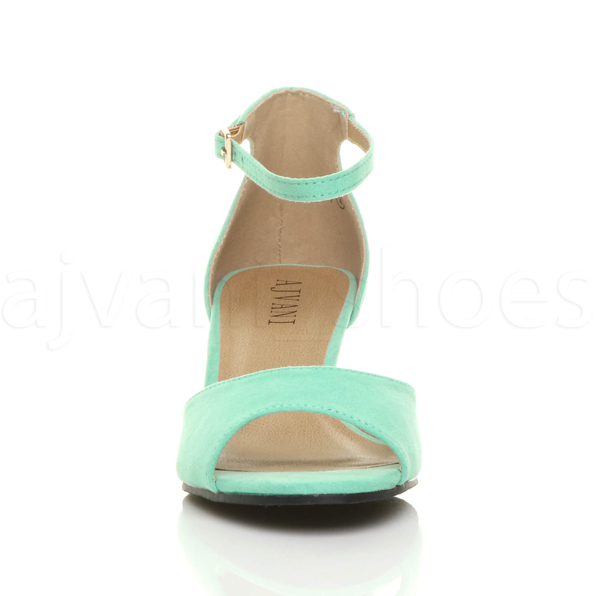 WOMENS-LADIES-LOW-MID-WEDGE-HEEL-ANKLE-STRAP-SMART-CASUAL-EVENING-SANDALS-SIZE thumbnail 79
