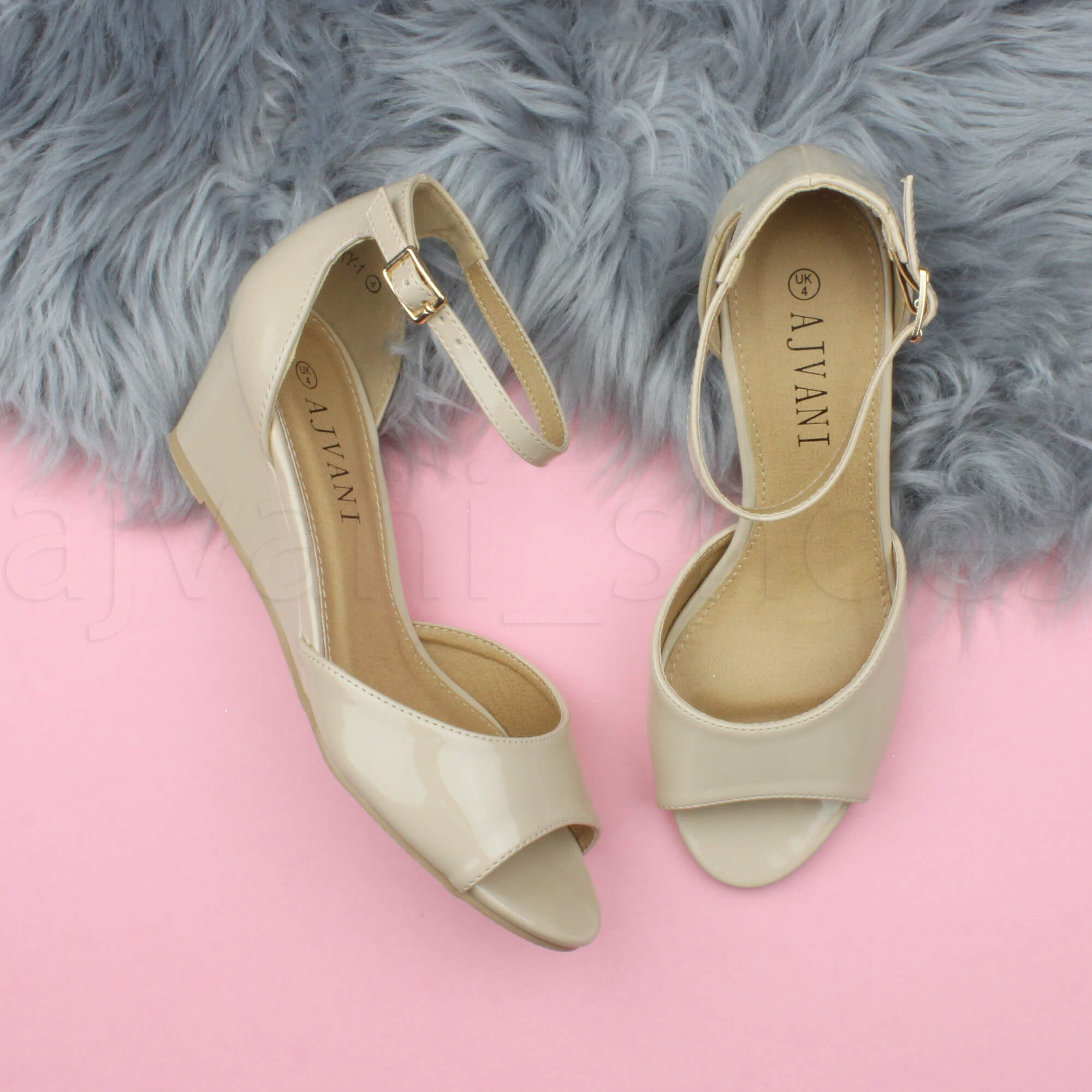WOMENS-LADIES-LOW-MID-WEDGE-HEEL-ANKLE-STRAP-SMART-CASUAL-EVENING-SANDALS-SIZE thumbnail 101