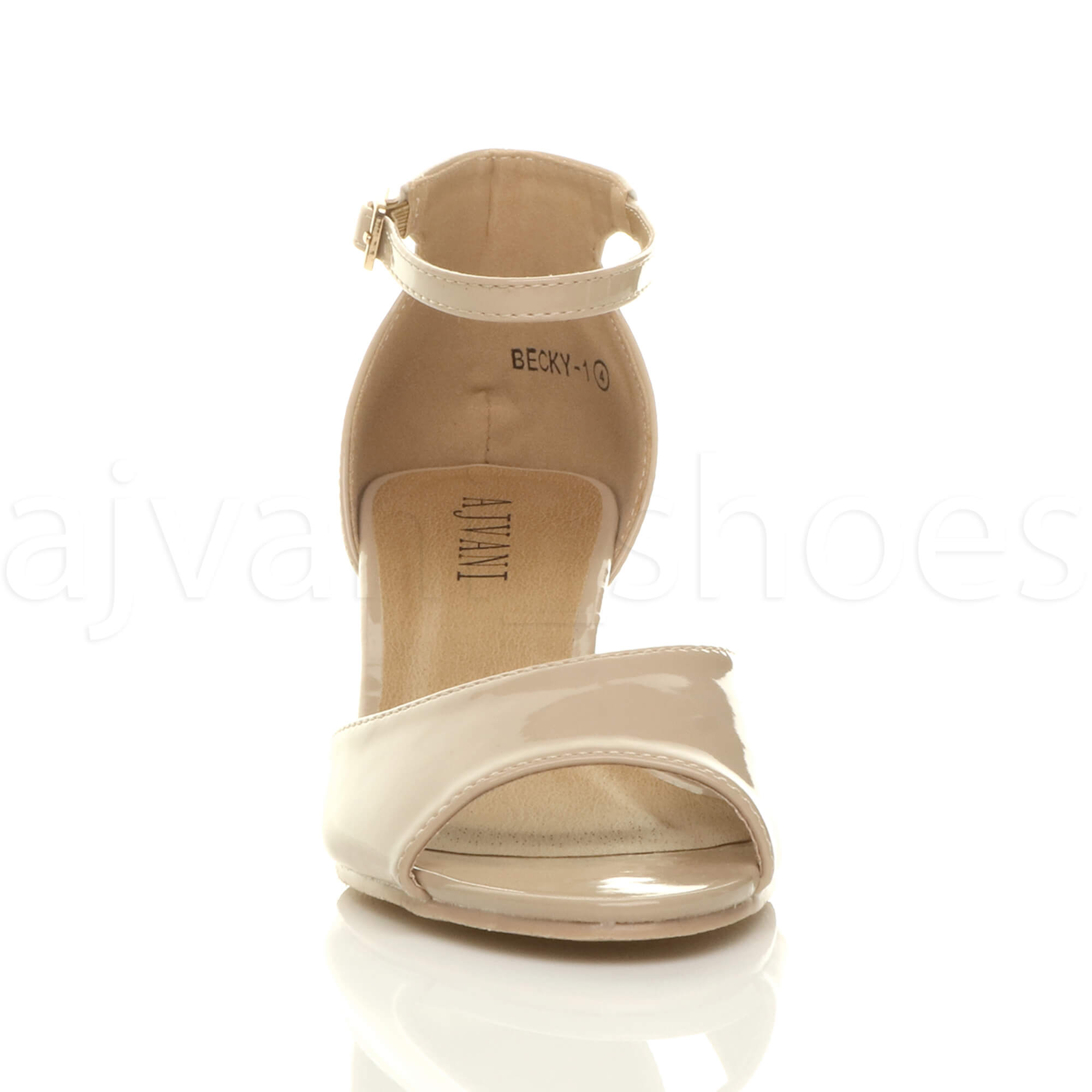 WOMENS-LADIES-LOW-MID-WEDGE-HEEL-ANKLE-STRAP-SMART-CASUAL-EVENING-SANDALS-SIZE thumbnail 103