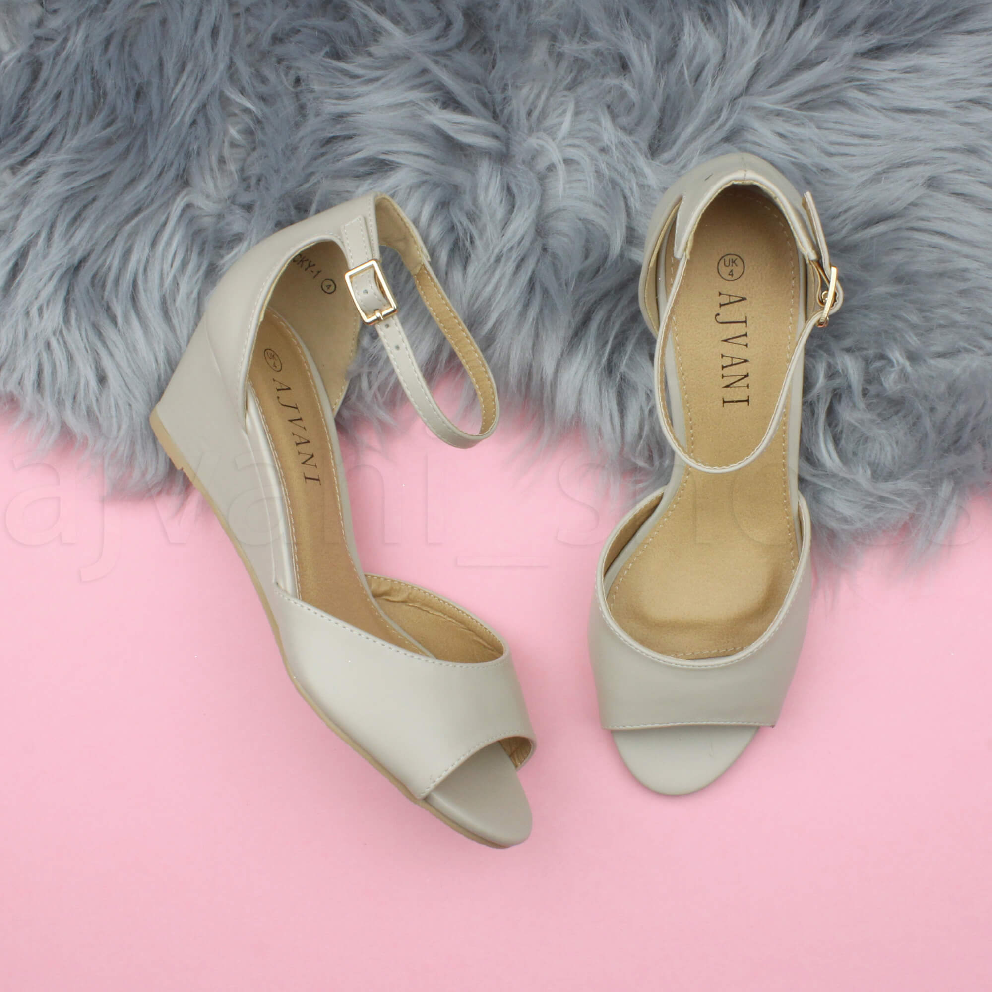 WOMENS-LADIES-LOW-MID-WEDGE-HEEL-ANKLE-STRAP-SMART-CASUAL-EVENING-SANDALS-SIZE thumbnail 93