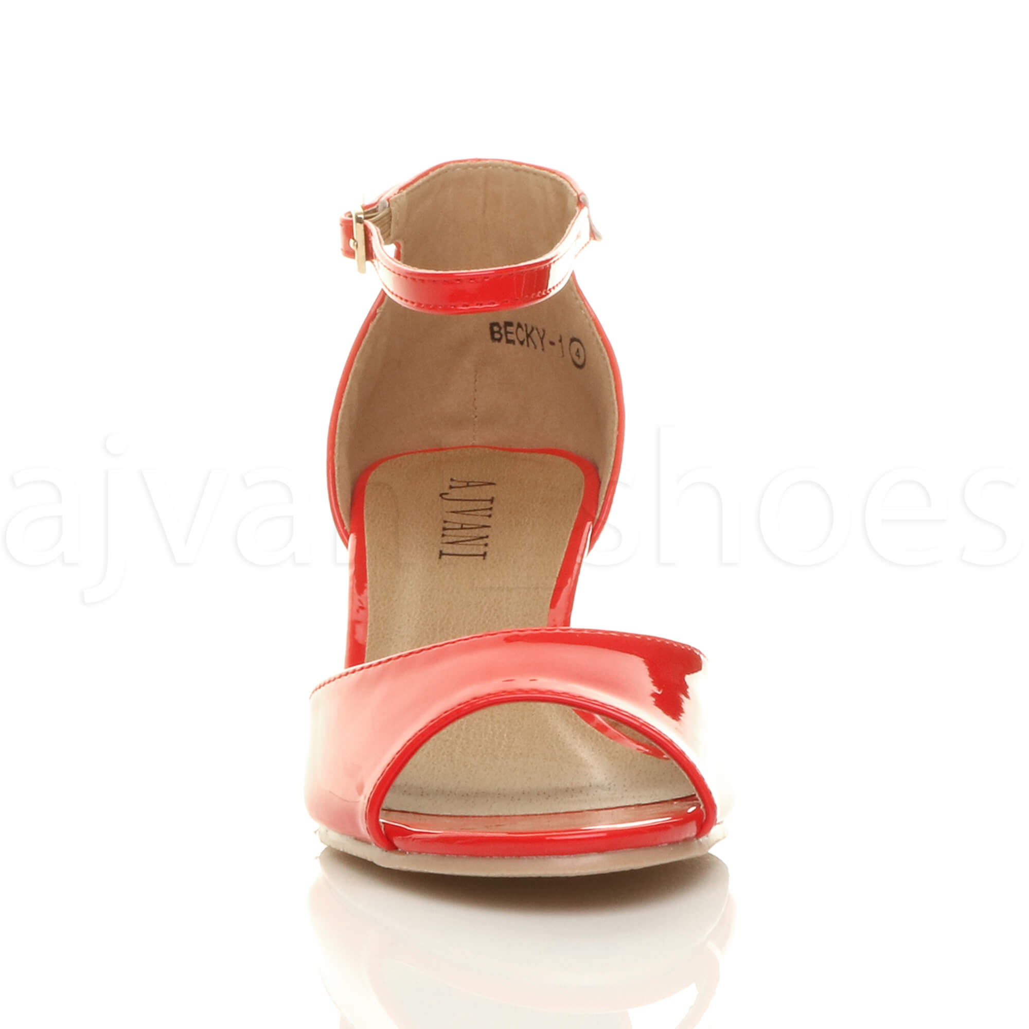 WOMENS-LADIES-LOW-MID-WEDGE-HEEL-ANKLE-STRAP-SMART-CASUAL-EVENING-SANDALS-SIZE thumbnail 119