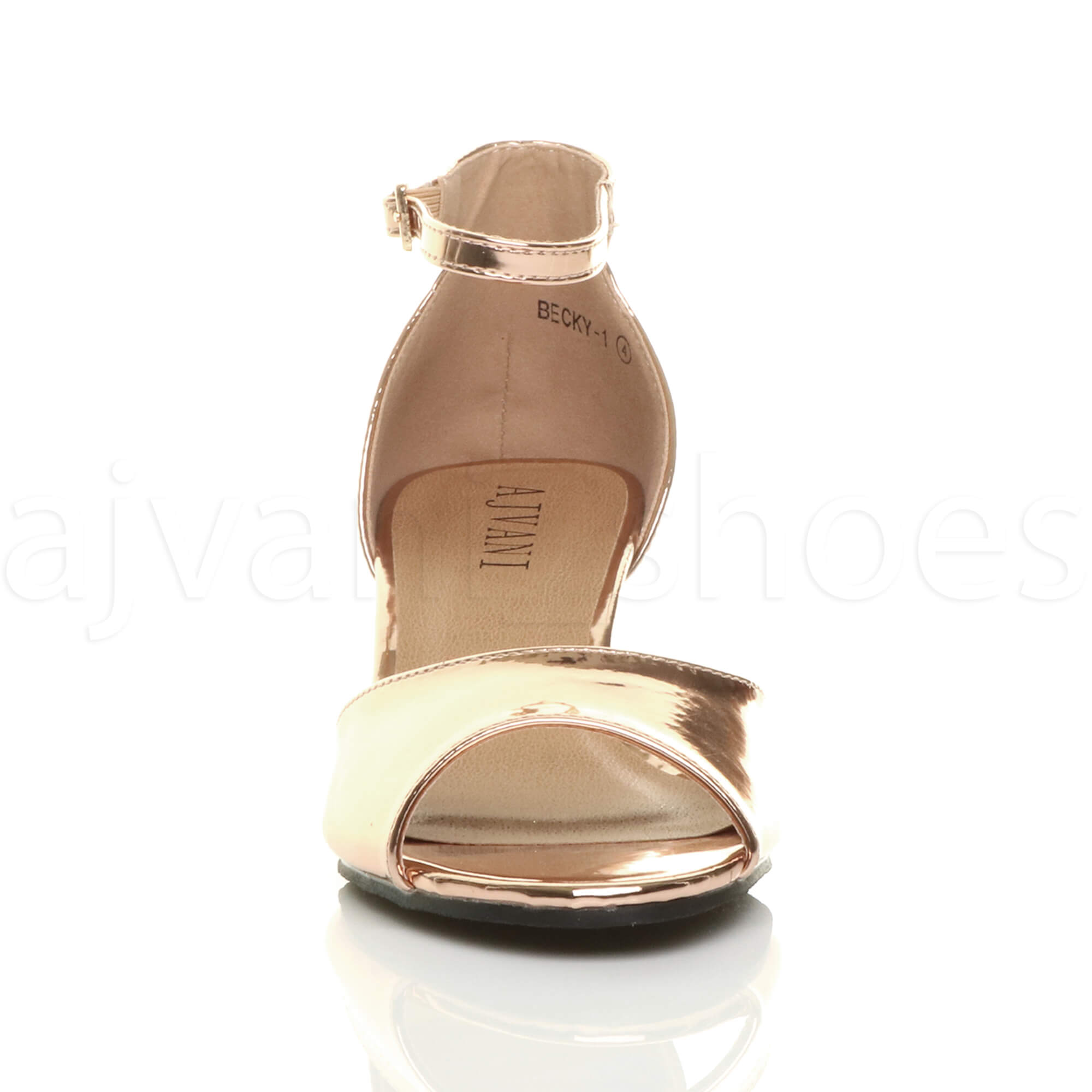 WOMENS-LADIES-LOW-MID-WEDGE-HEEL-ANKLE-STRAP-SMART-CASUAL-EVENING-SANDALS-SIZE thumbnail 135
