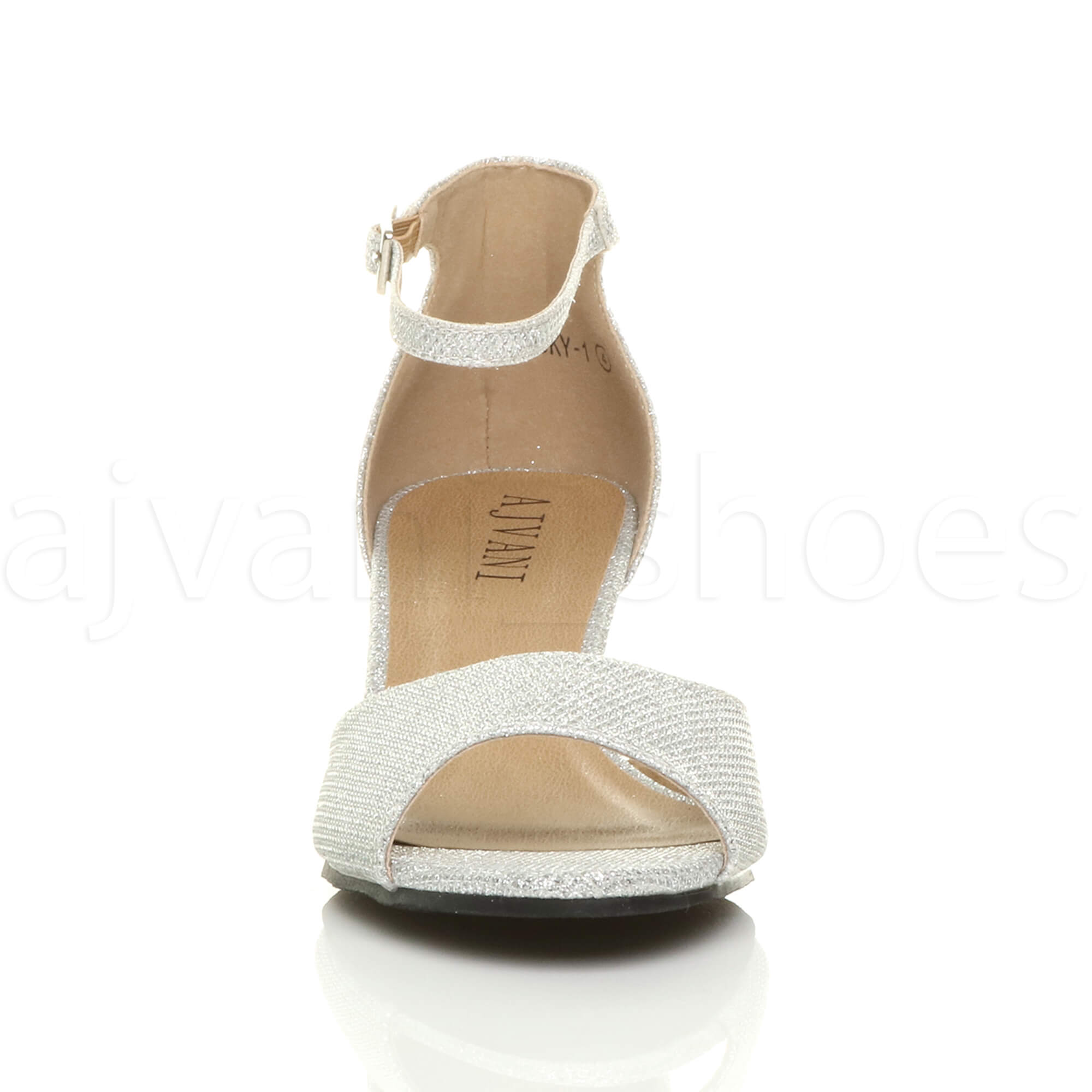 WOMENS-LADIES-LOW-MID-WEDGE-HEEL-ANKLE-STRAP-SMART-CASUAL-EVENING-SANDALS-SIZE thumbnail 143