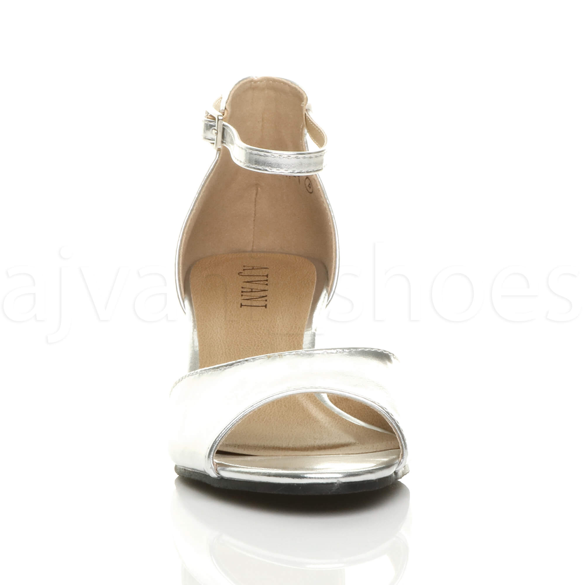 WOMENS-LADIES-LOW-MID-WEDGE-HEEL-ANKLE-STRAP-SMART-CASUAL-EVENING-SANDALS-SIZE thumbnail 151