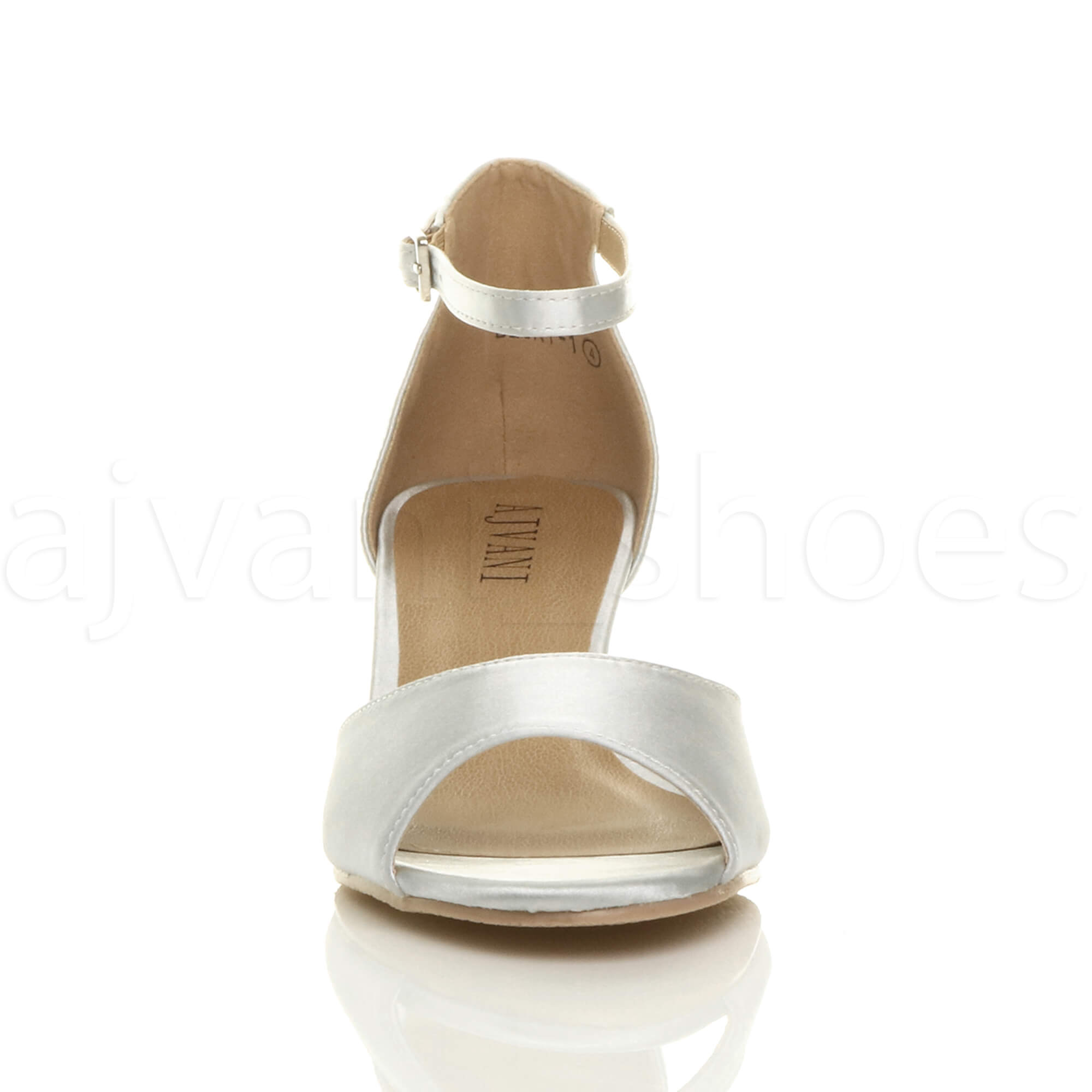 WOMENS-LADIES-LOW-MID-WEDGE-HEEL-ANKLE-STRAP-SMART-CASUAL-EVENING-SANDALS-SIZE thumbnail 159