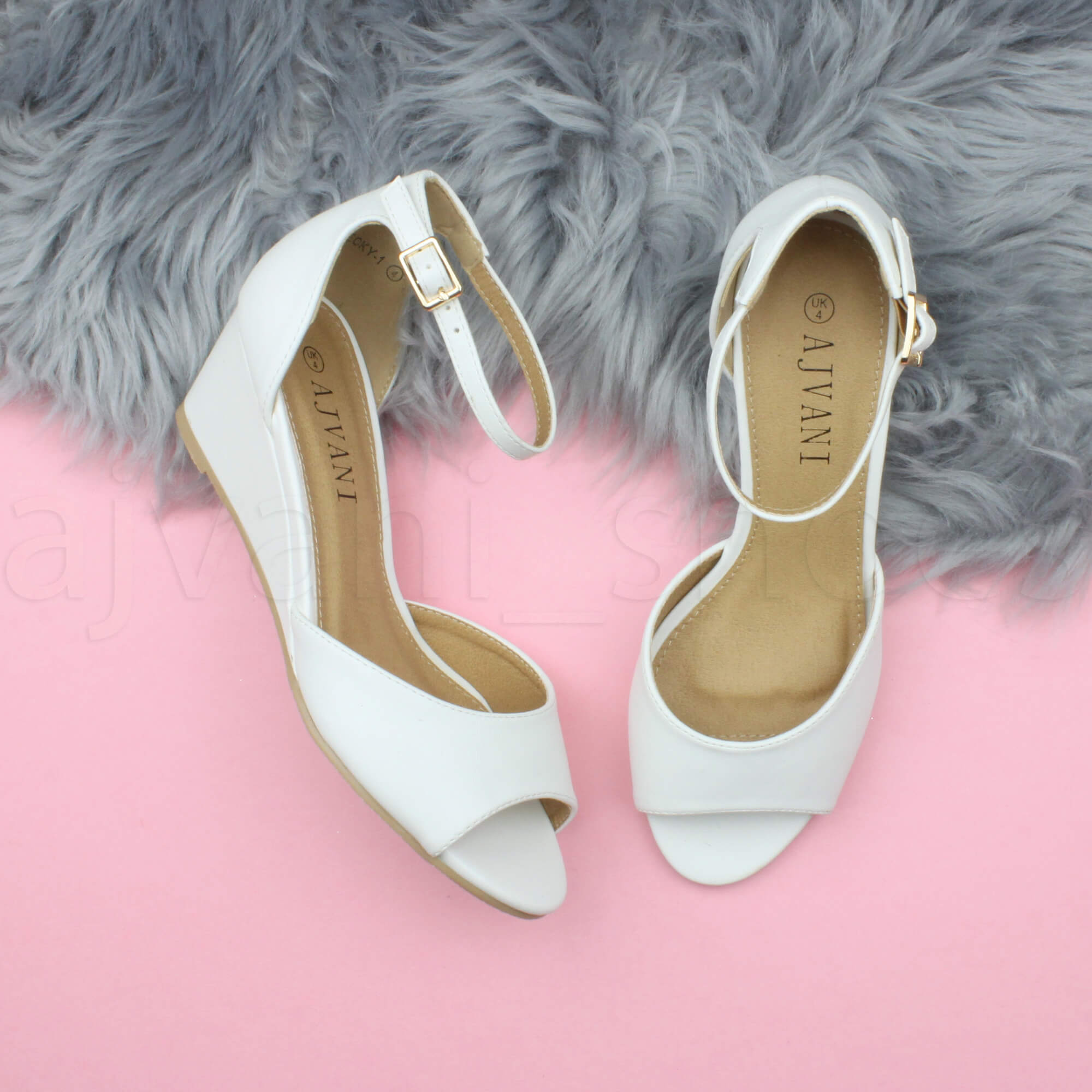 WOMENS-LADIES-LOW-MID-WEDGE-HEEL-ANKLE-STRAP-SMART-CASUAL-EVENING-SANDALS-SIZE thumbnail 165