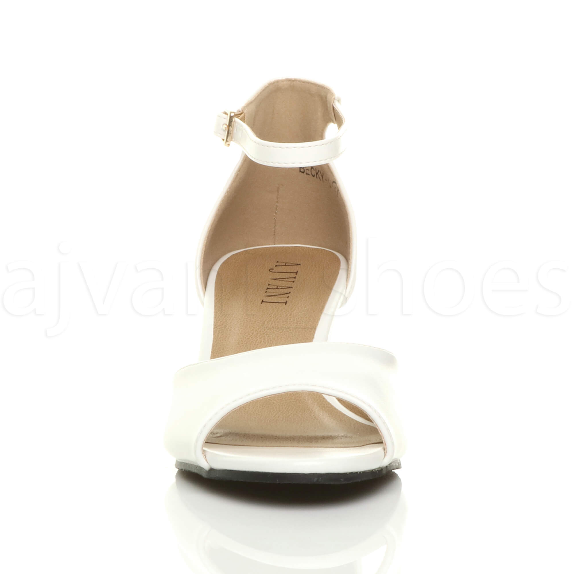 WOMENS-LADIES-LOW-MID-WEDGE-HEEL-ANKLE-STRAP-SMART-CASUAL-EVENING-SANDALS-SIZE thumbnail 167