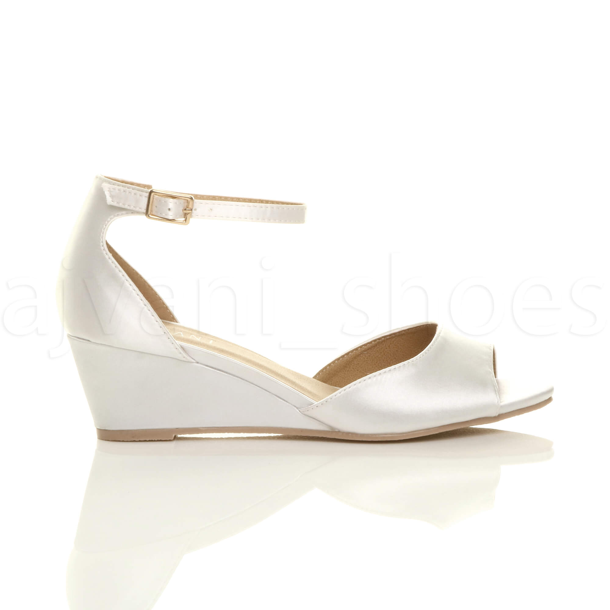 WOMENS-LADIES-LOW-MID-WEDGE-HEEL-ANKLE-STRAP-SMART-CASUAL-EVENING-SANDALS-SIZE thumbnail 171
