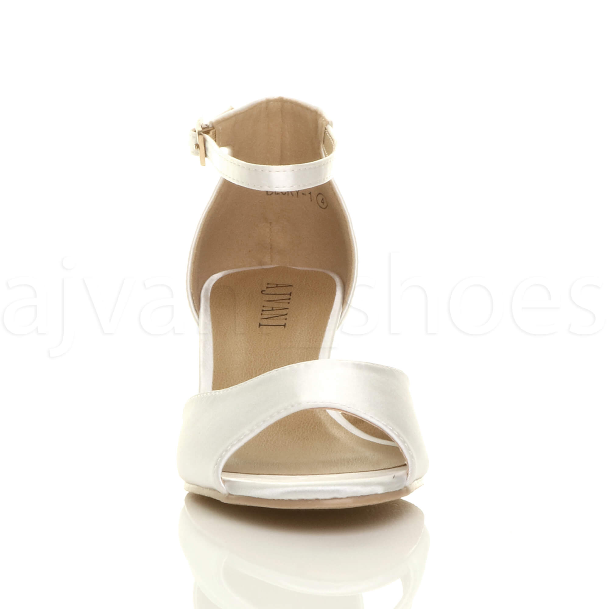 WOMENS-LADIES-LOW-MID-WEDGE-HEEL-ANKLE-STRAP-SMART-CASUAL-EVENING-SANDALS-SIZE thumbnail 175