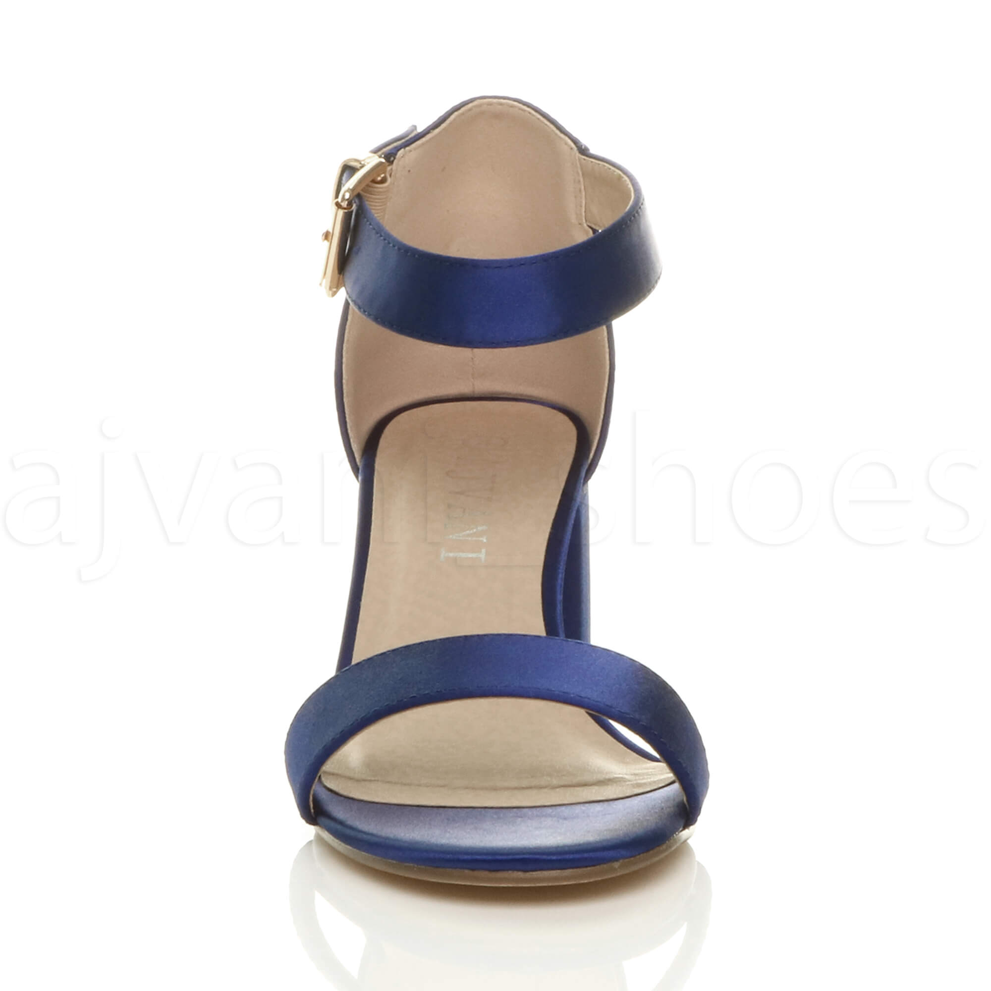 WOMENS-LADIES-LOW-MID-BLOCK-HEEL-ANKLE-STRAP-BUCKLE-PARTY-STRAPPY-SANDALS-SIZE thumbnail 123