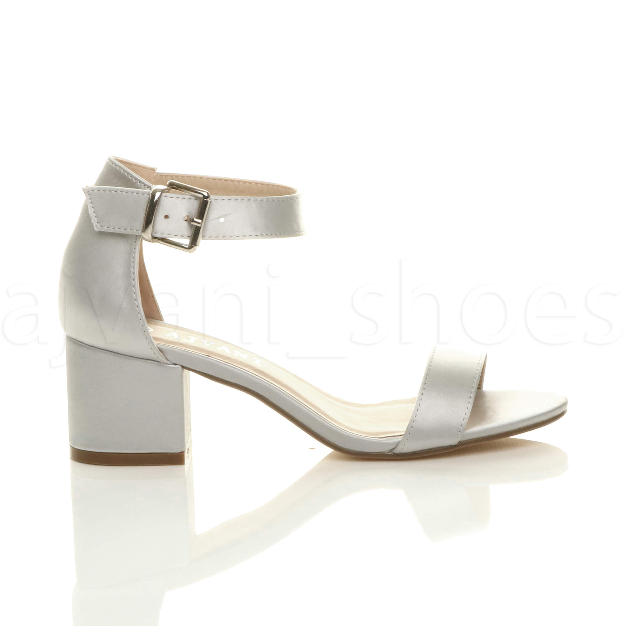 WOMENS-LADIES-LOW-MID-BLOCK-HEEL-ANKLE-STRAP-BUCKLE-PARTY-STRAPPY-SANDALS-SIZE thumbnail 183