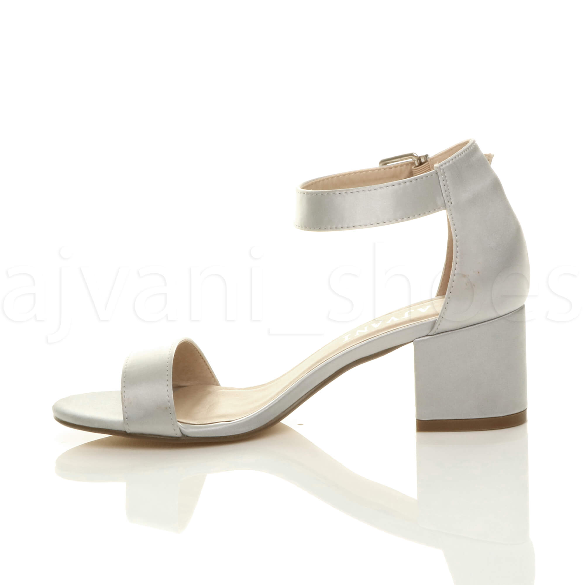 WOMENS-LADIES-LOW-MID-BLOCK-HEEL-ANKLE-STRAP-BUCKLE-PARTY-STRAPPY-SANDALS-SIZE thumbnail 184
