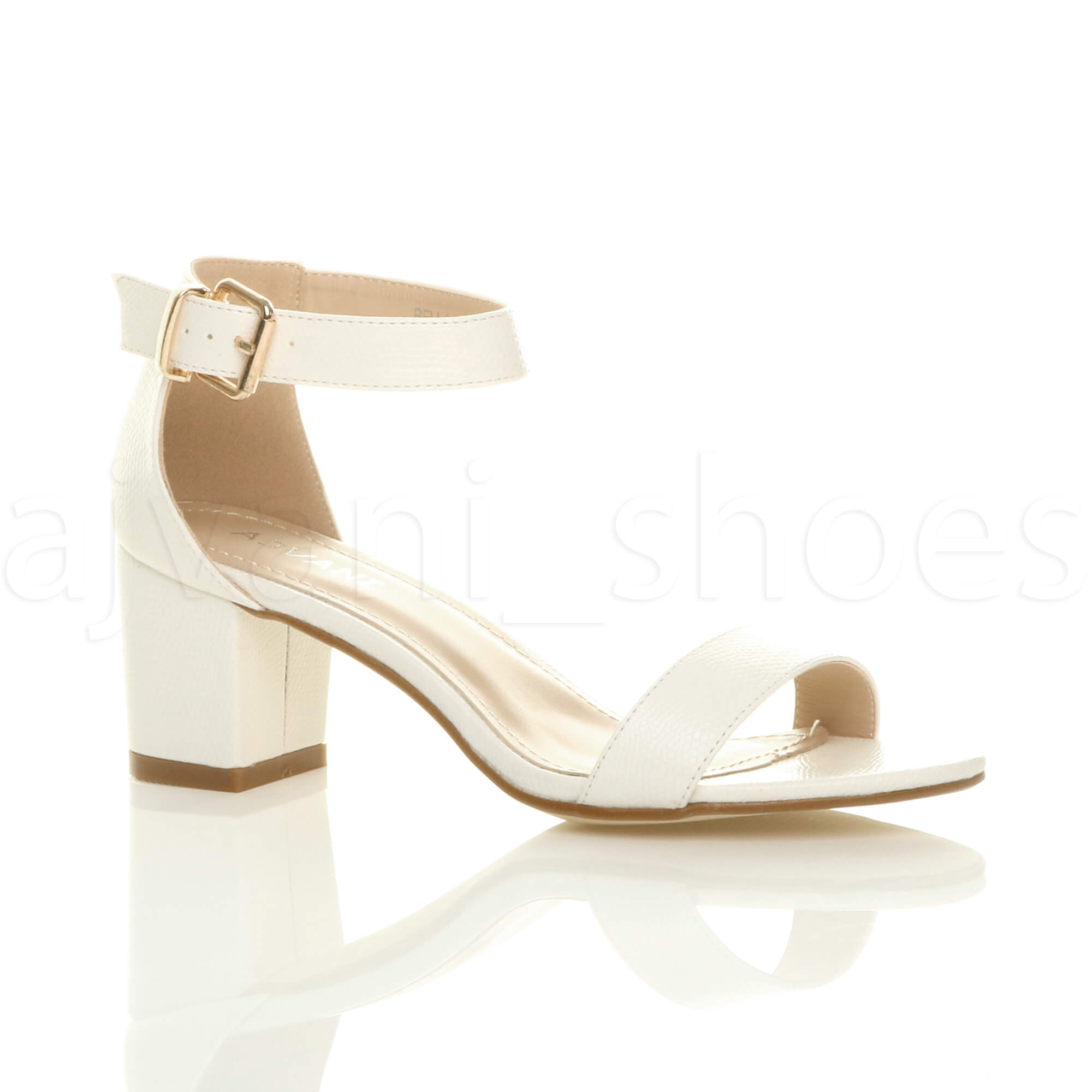 WOMENS-LADIES-LOW-MID-BLOCK-HEEL-ANKLE-STRAP-BUCKLE-PARTY-STRAPPY-SANDALS-SIZE