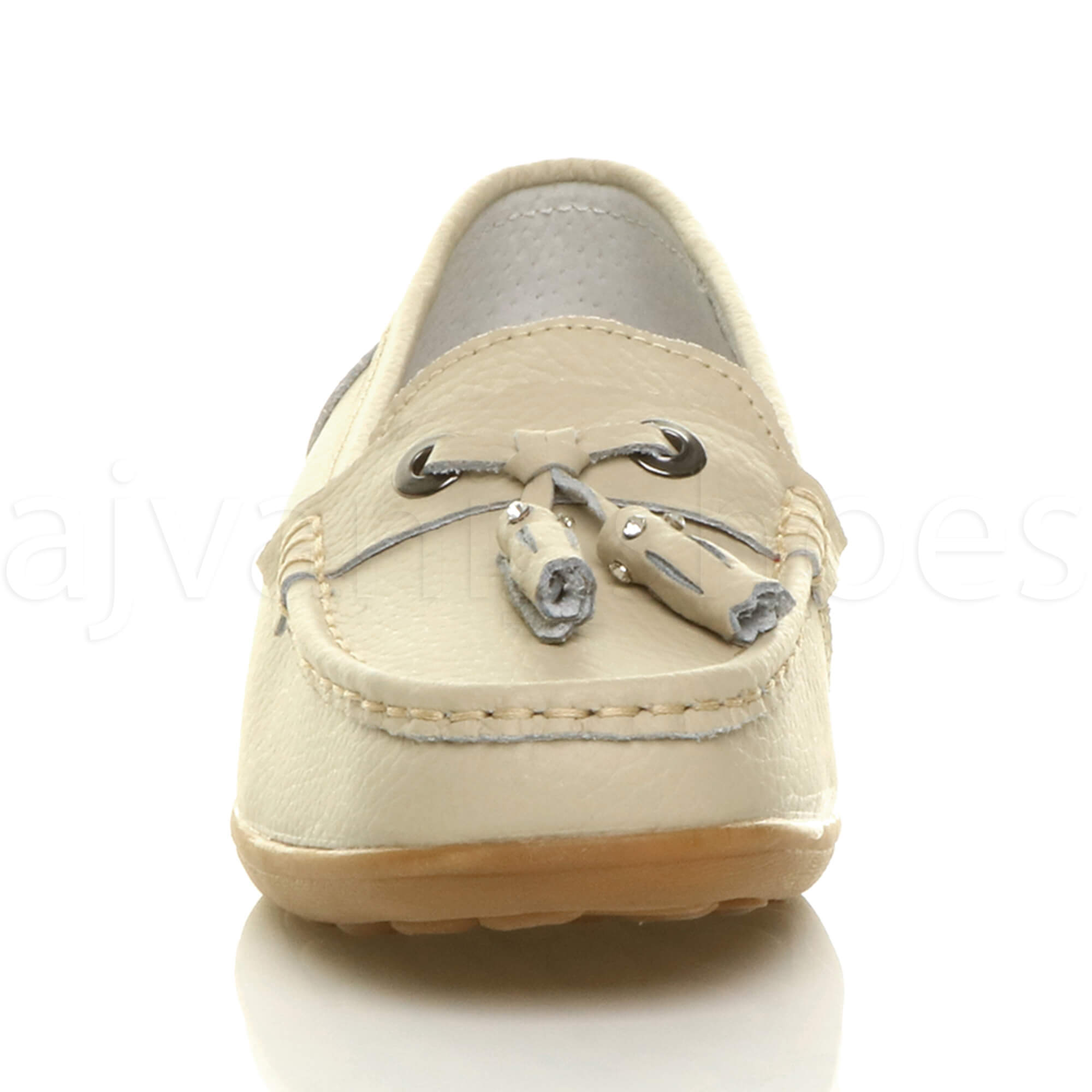 WOMENS-LADIES-LOW-HEEL-WEDGE-LEATHER-TASSEL-LOAFERS-COMFORT-MOCCASINS-SHOES-SIZE thumbnail 7