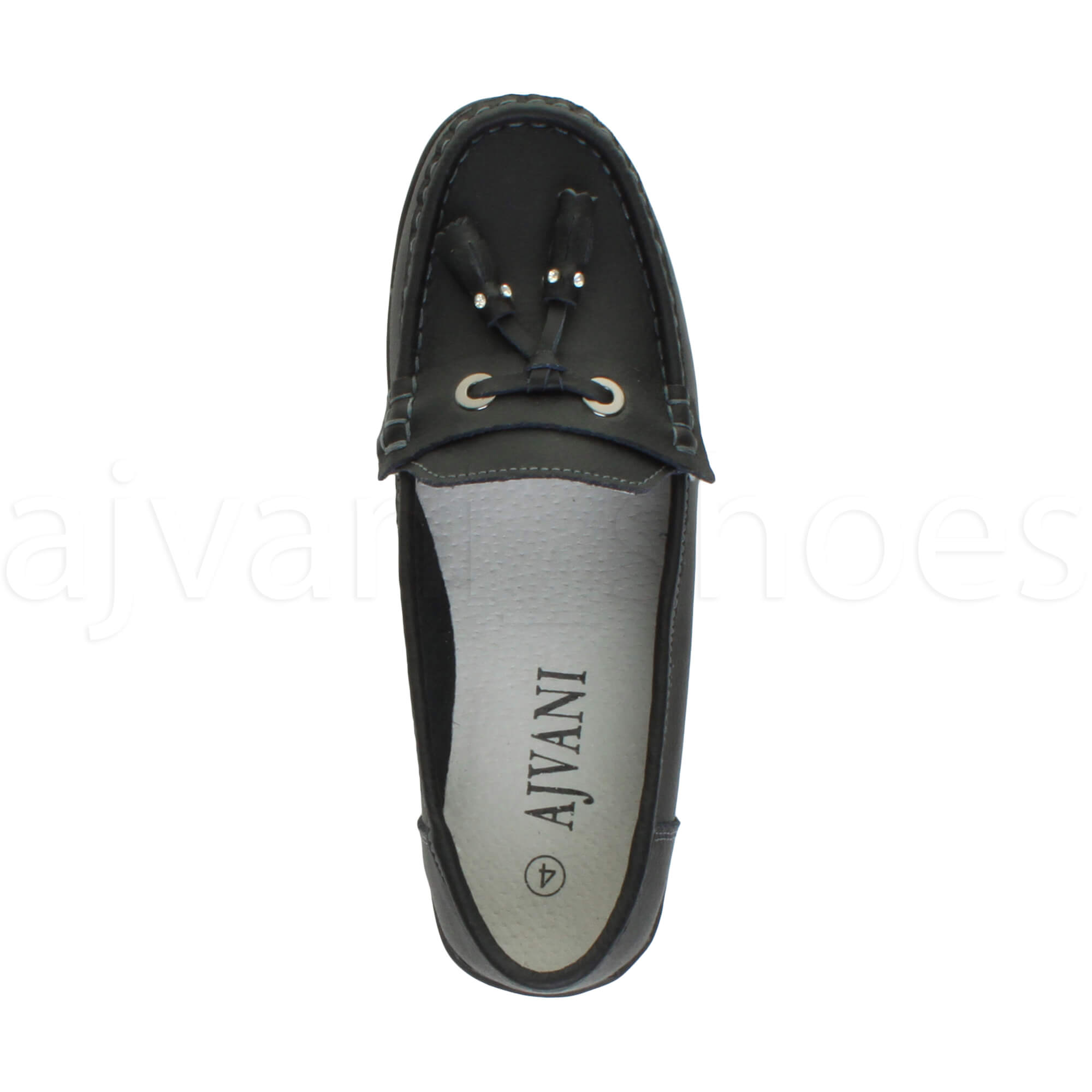 WOMENS-LADIES-LOW-HEEL-WEDGE-LEATHER-TASSEL-LOAFERS-COMFORT-MOCCASINS-SHOES-SIZE thumbnail 16