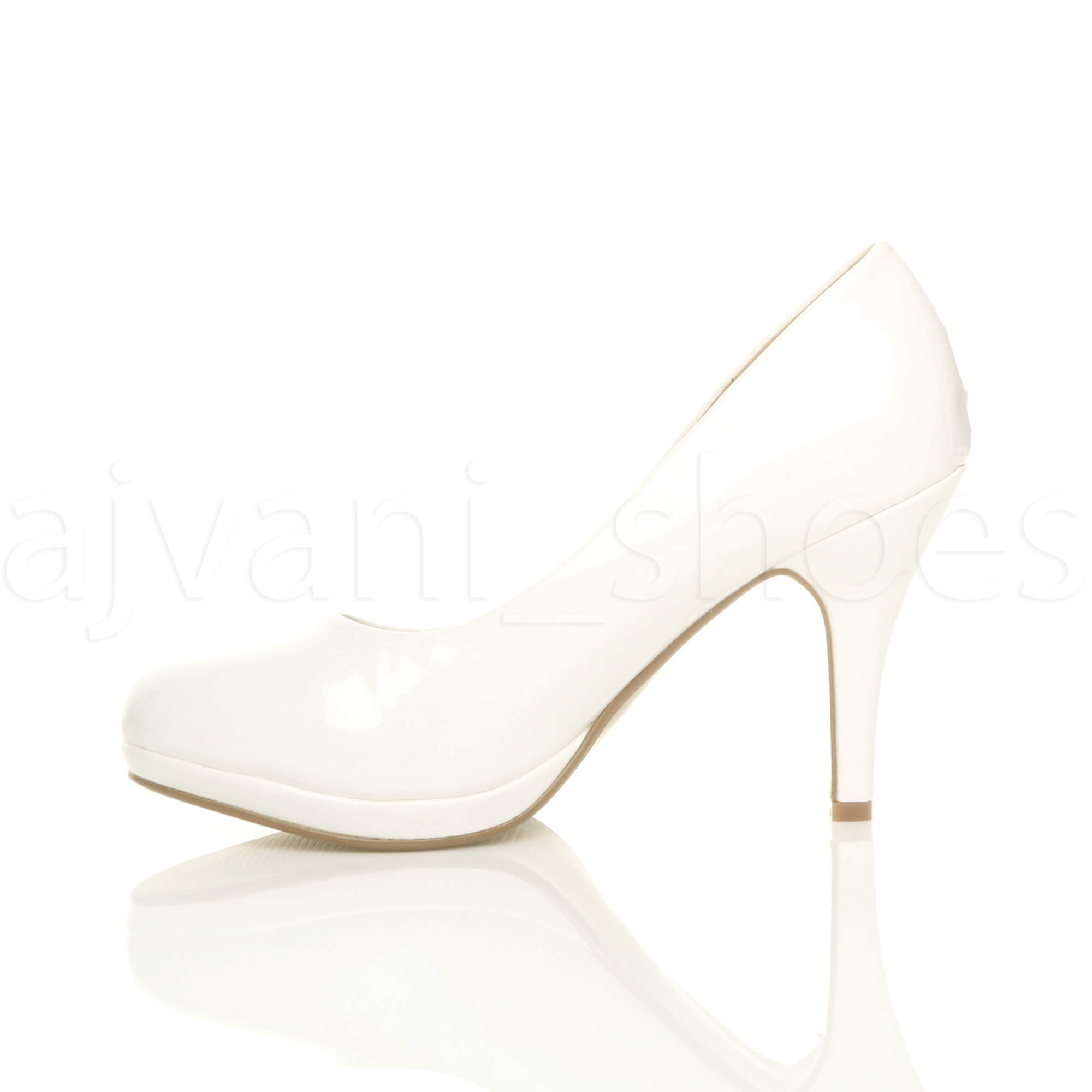 WOMENS-LADIES-MID-HIGH-HEEL-PLATFORM-PARTY-WORK-EVENING-COURT-SHOES-PUMPS-SIZE