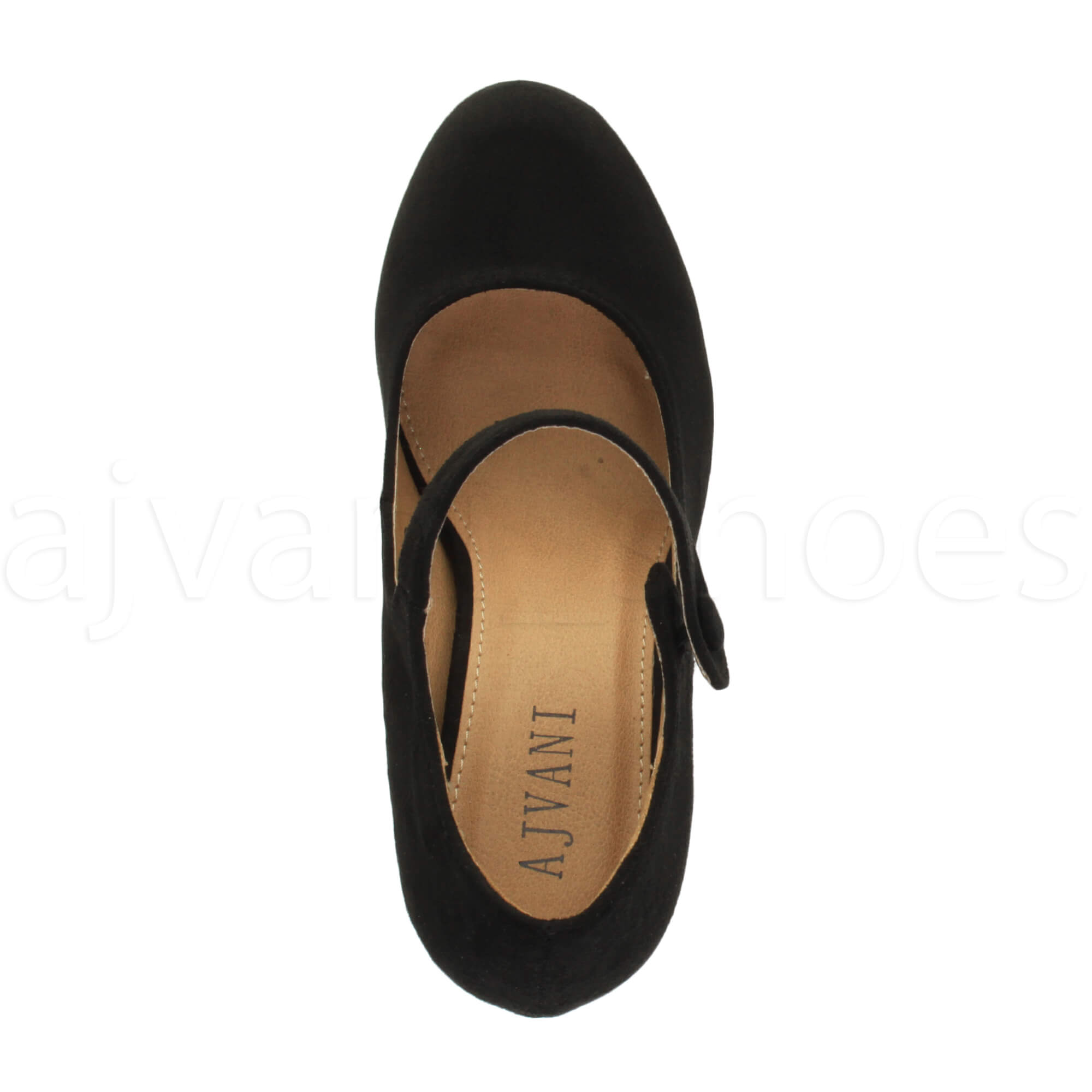 094ad673db971 Details about WOMENS LADIES MID HIGH HEEL MARY JANE EVENING WORK PLATFORM  COURT SHOES SIZE