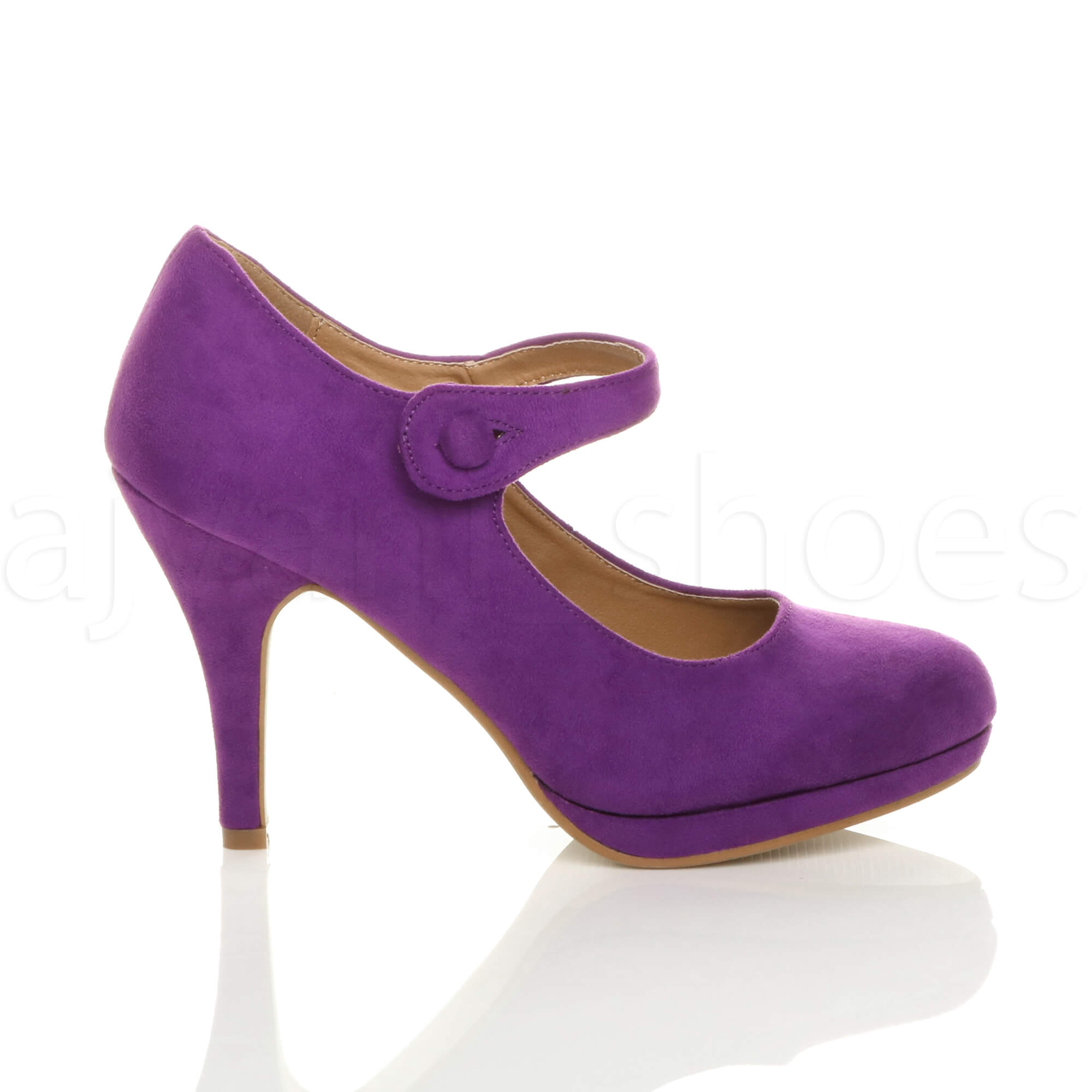 WOMENS-LADIES-MID-HIGH-HEEL-MARY-JANE-EVENING-WORK-PLATFORM-COURT-SHOES-SIZE