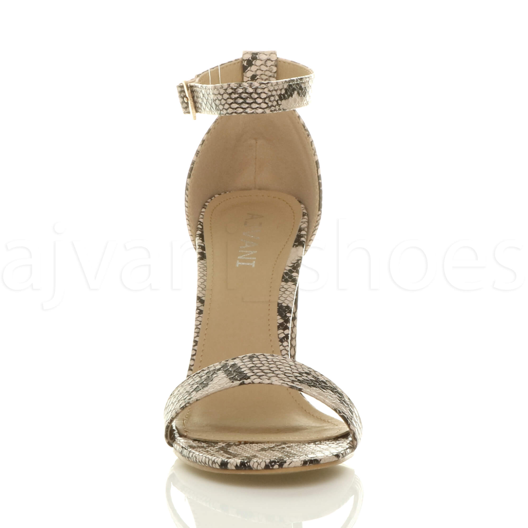 WOMENS-LADIES-BLOCK-HIGH-HEEL-ANKLE-STRAP-PEEP-TOE-STRAPPY-SANDALS-SHOES-SIZE thumbnail 6