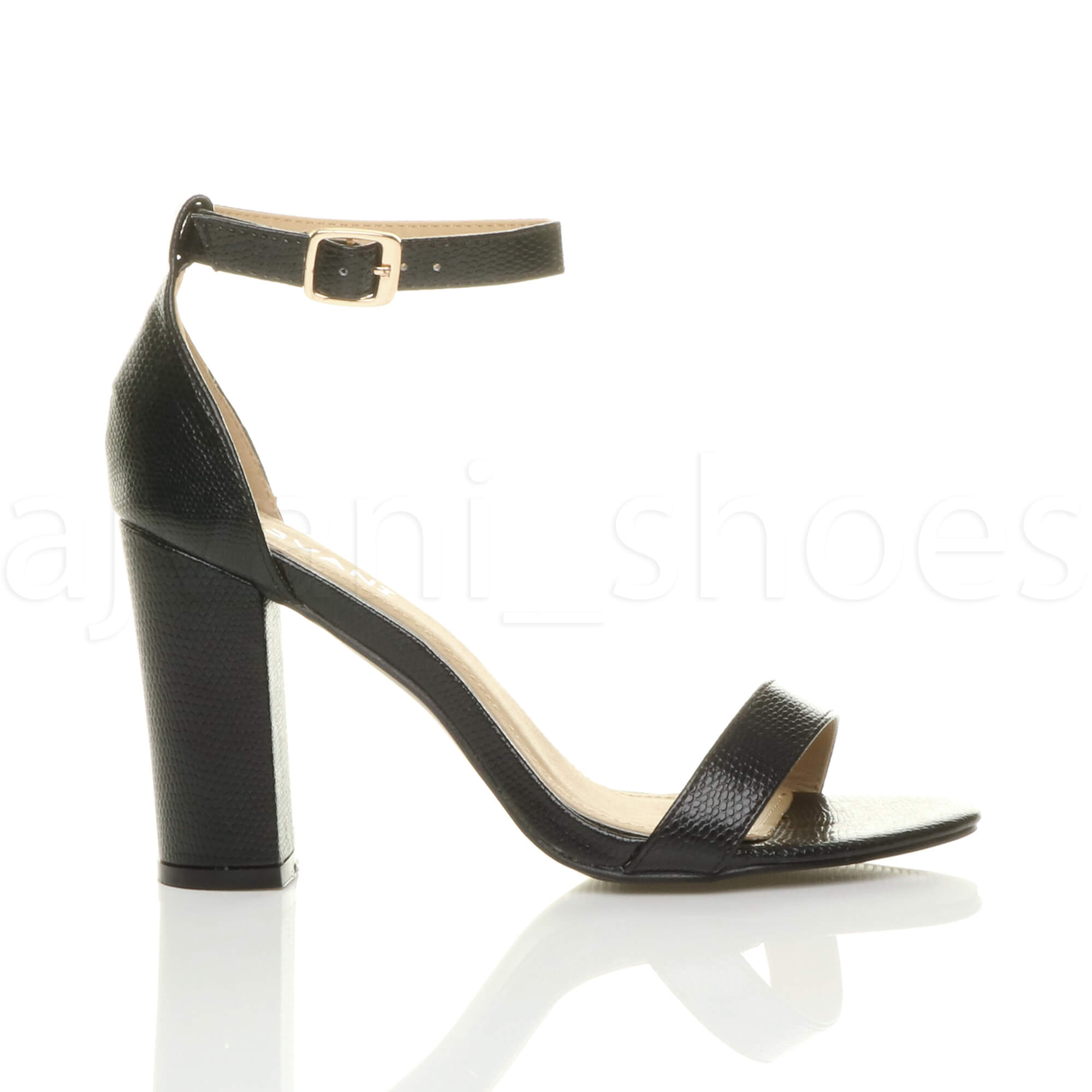 WOMENS-LADIES-BLOCK-HIGH-HEEL-ANKLE-STRAP-PEEP-TOE-STRAPPY-SANDALS-SHOES-SIZE thumbnail 10