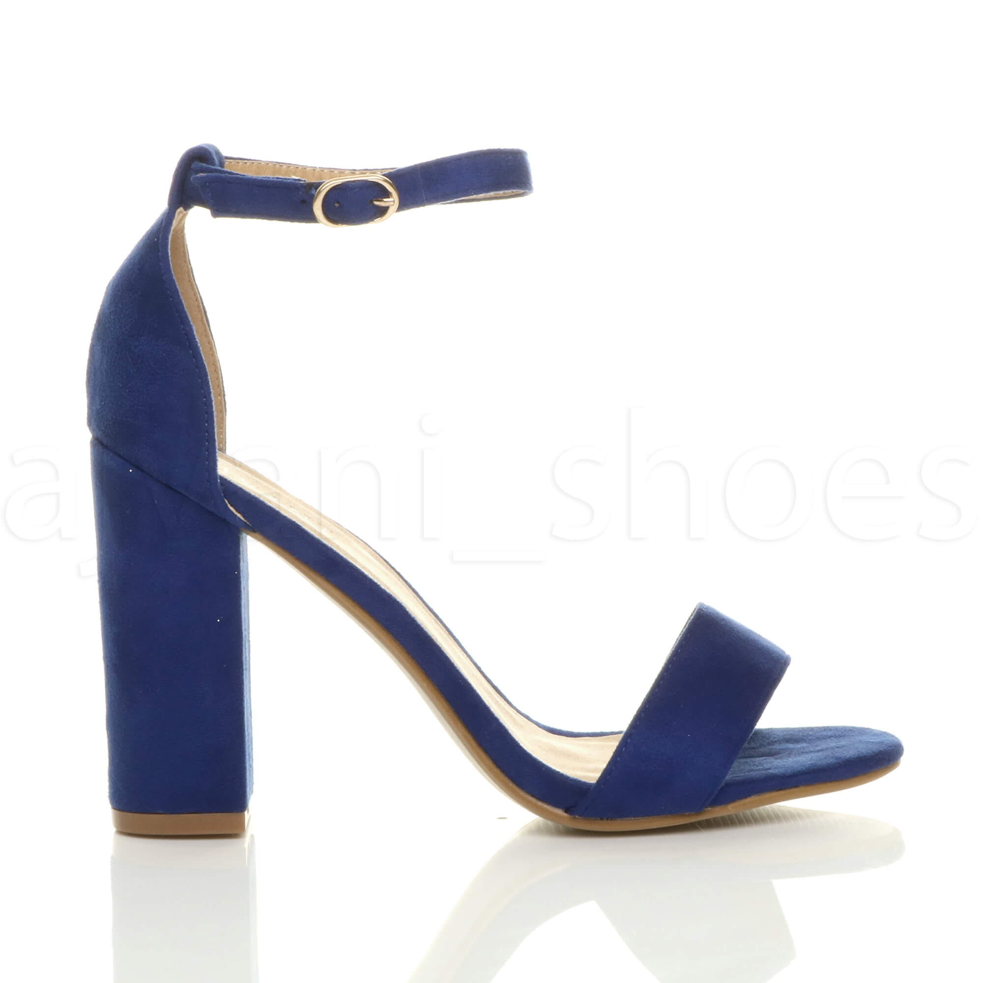 WOMENS-LADIES-BLOCK-HIGH-HEEL-ANKLE-STRAP-PEEP-TOE-STRAPPY-SANDALS-SHOES-SIZE thumbnail 53