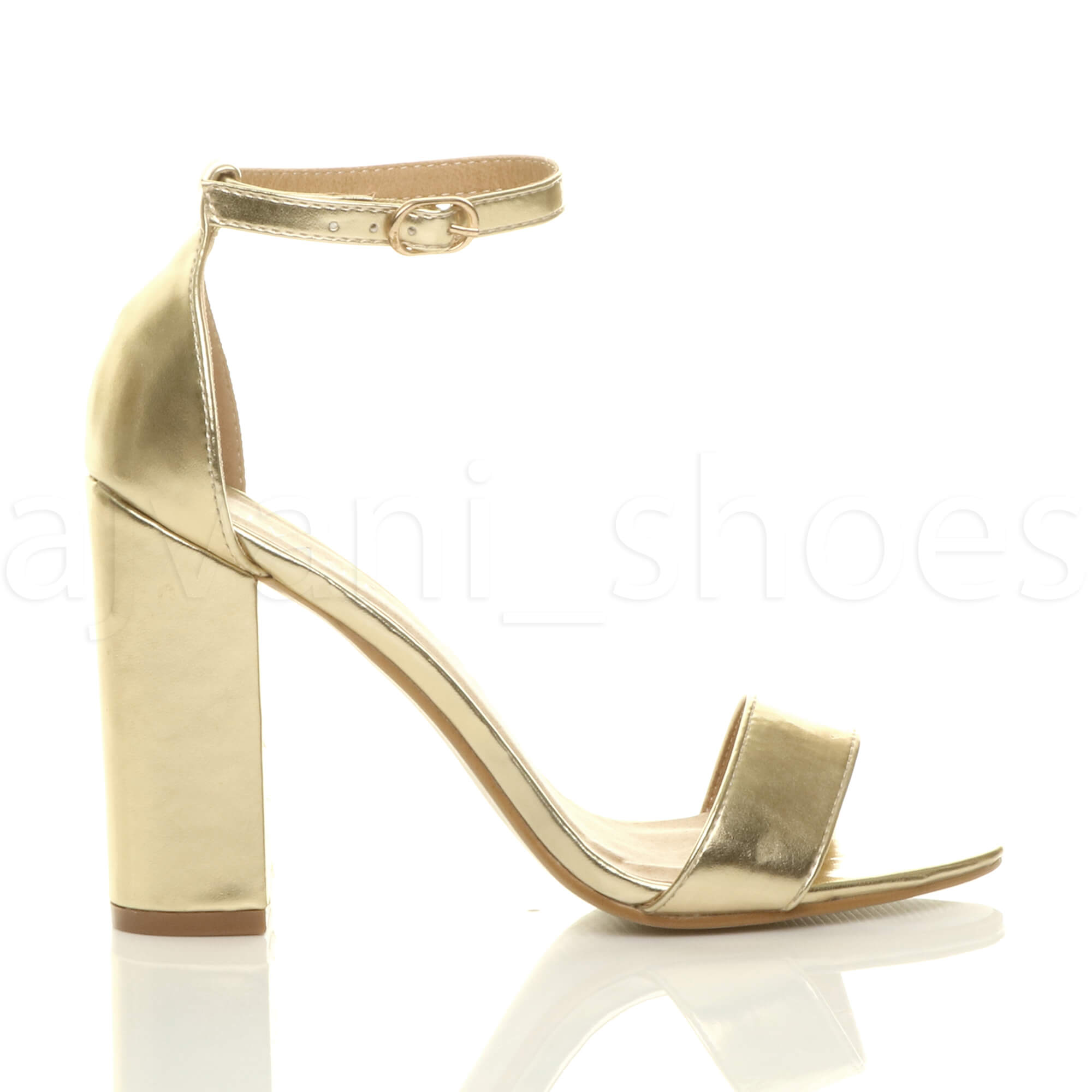 WOMENS-LADIES-BLOCK-HIGH-HEEL-ANKLE-STRAP-PEEP-TOE-STRAPPY-SANDALS-SHOES-SIZE thumbnail 67