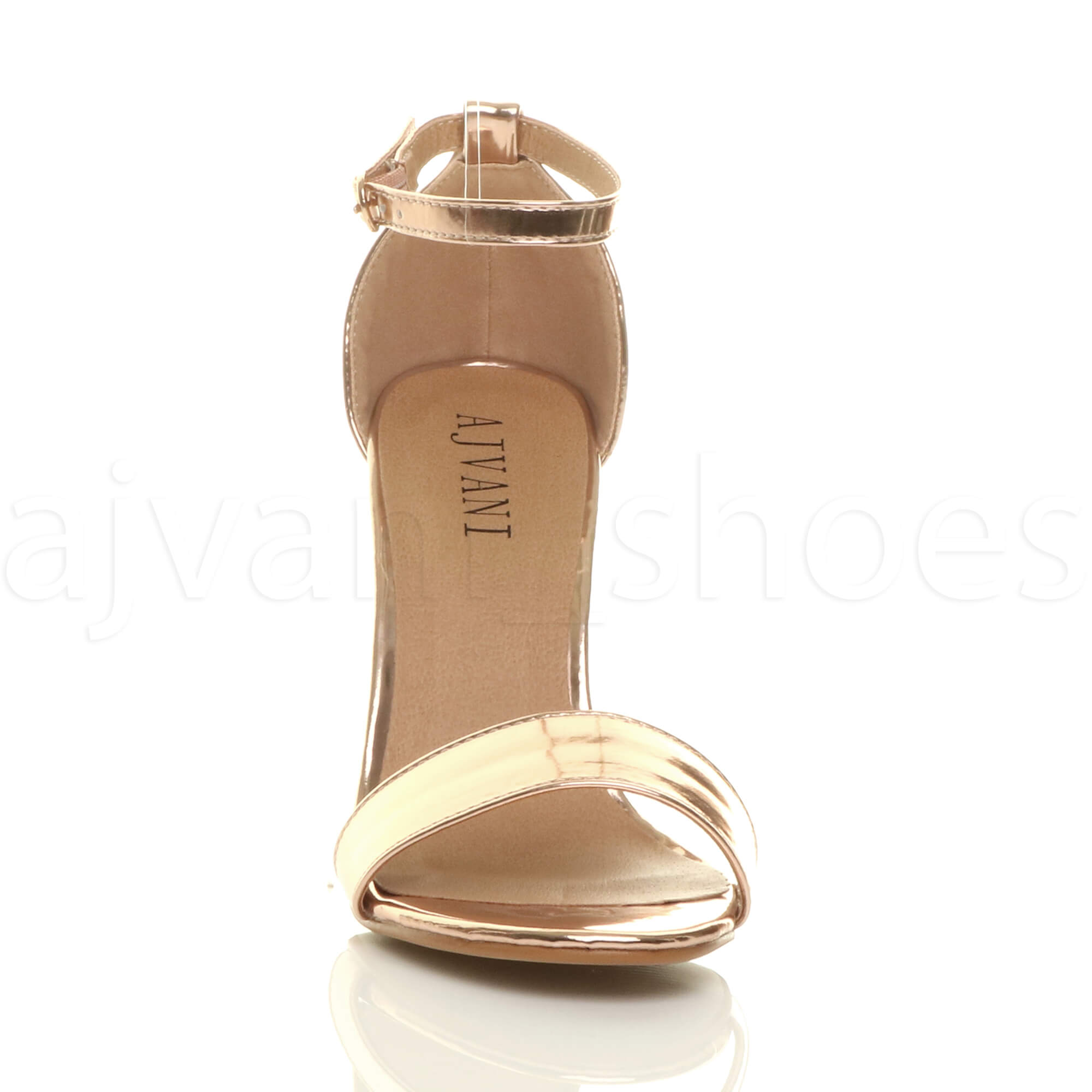 WOMENS-LADIES-BLOCK-HIGH-HEEL-ANKLE-STRAP-PEEP-TOE-STRAPPY-SANDALS-SHOES-SIZE thumbnail 143