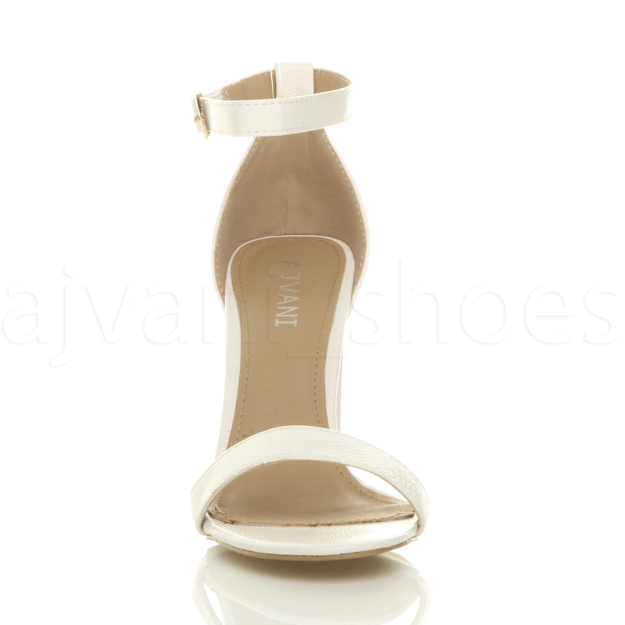 WOMENS-LADIES-BLOCK-HIGH-HEEL-ANKLE-STRAP-PEEP-TOE-STRAPPY-SANDALS-SHOES-SIZE thumbnail 164