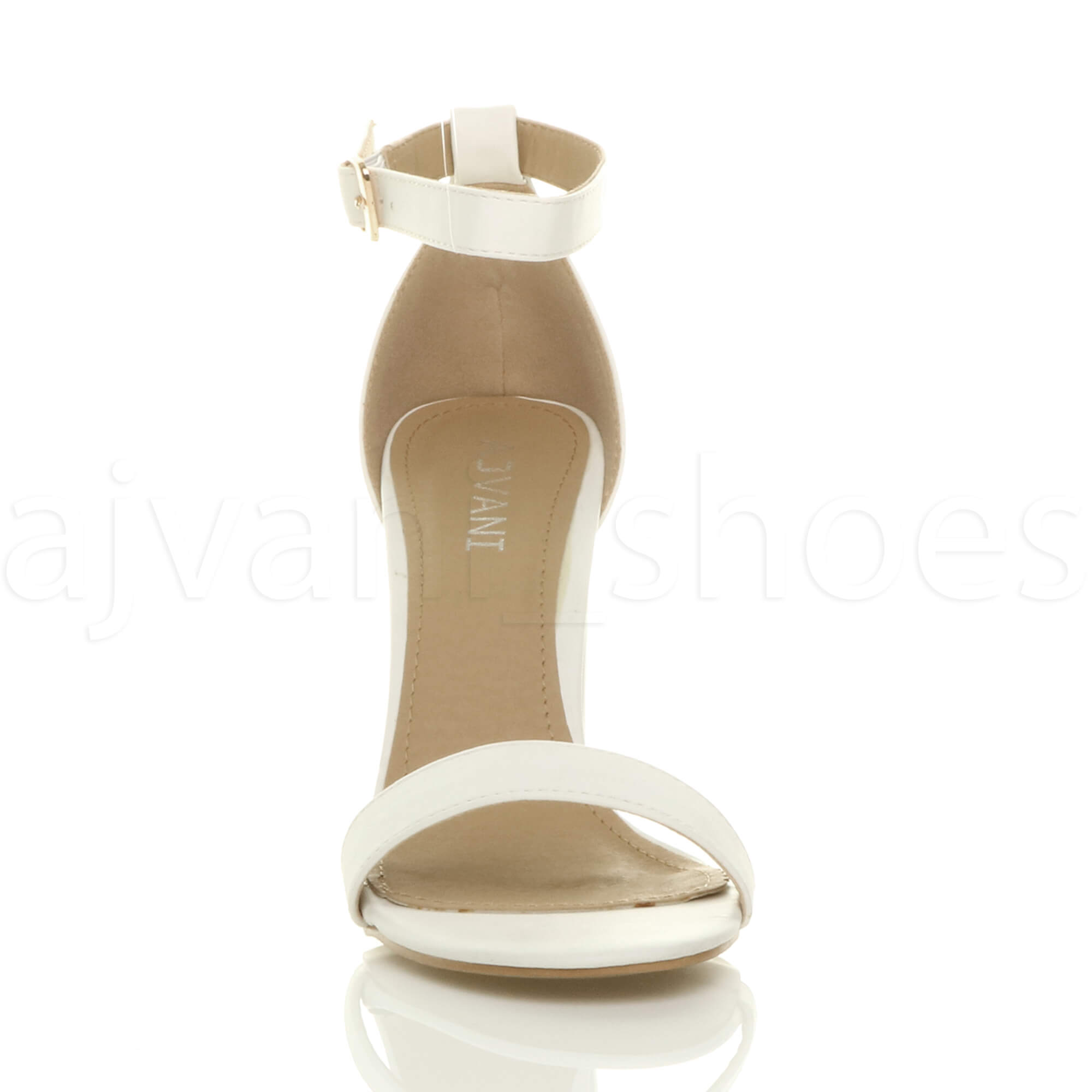 WOMENS-LADIES-BLOCK-HIGH-HEEL-ANKLE-STRAP-PEEP-TOE-STRAPPY-SANDALS-SHOES-SIZE thumbnail 171