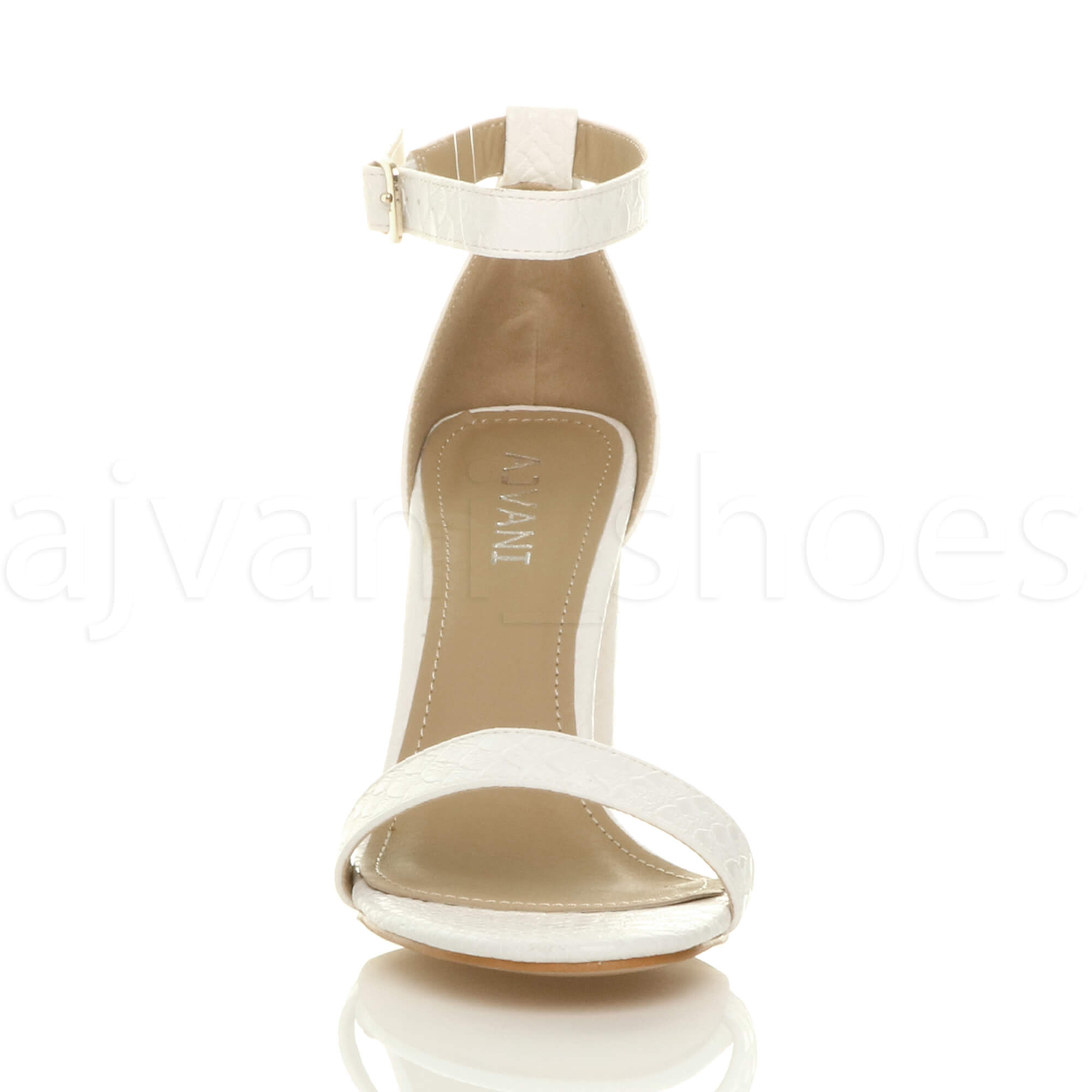 WOMENS-LADIES-BLOCK-HIGH-HEEL-ANKLE-STRAP-PEEP-TOE-STRAPPY-SANDALS-SHOES-SIZE thumbnail 178
