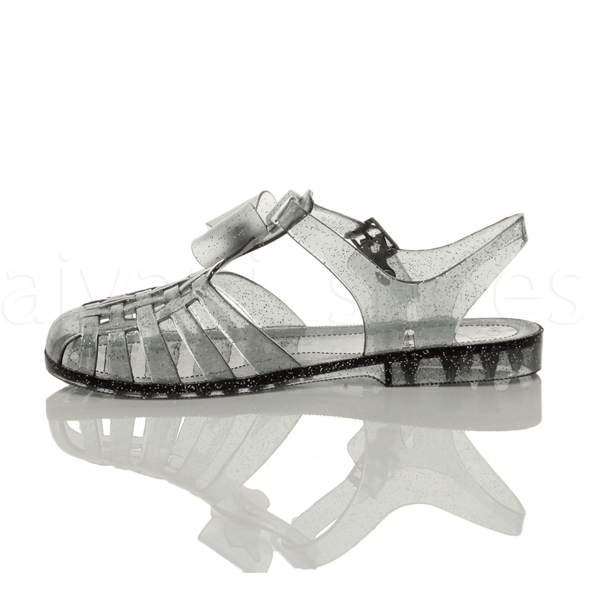 Dettagli su Donna tacco basso piano gomma 90s retrò fiocco romano sandali gladiatore taglia