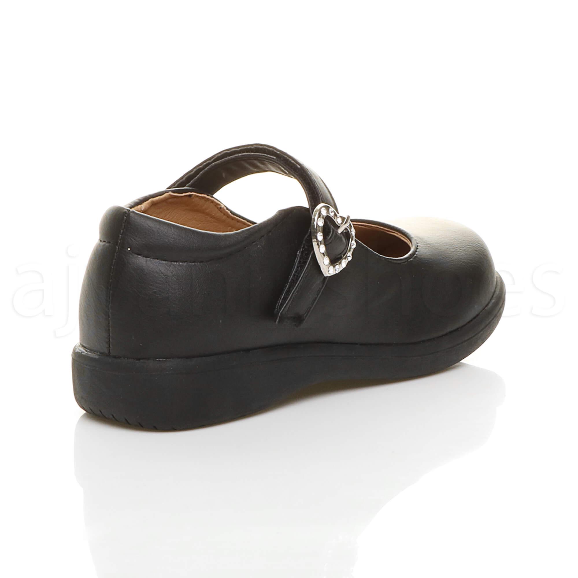 Mädchen Kleine Absatz Flach Mary Jane Formal Elegant Fesch Schuhe Größe 11 YsNkAcTh