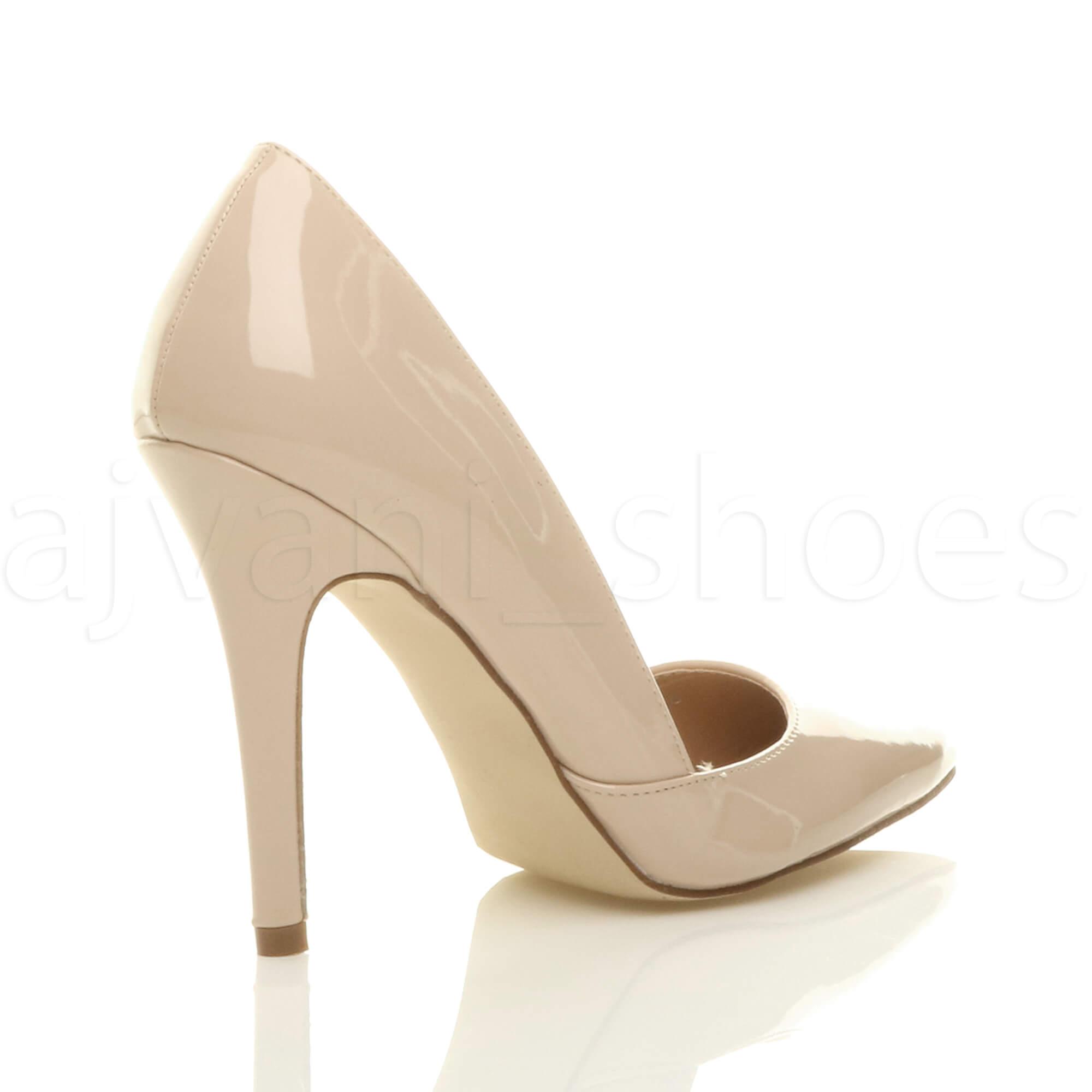 Talons Hauts D'orsay Femmes Chaussures Escarpín Découpée Pointe Pointure Stylet 6aqdHwP