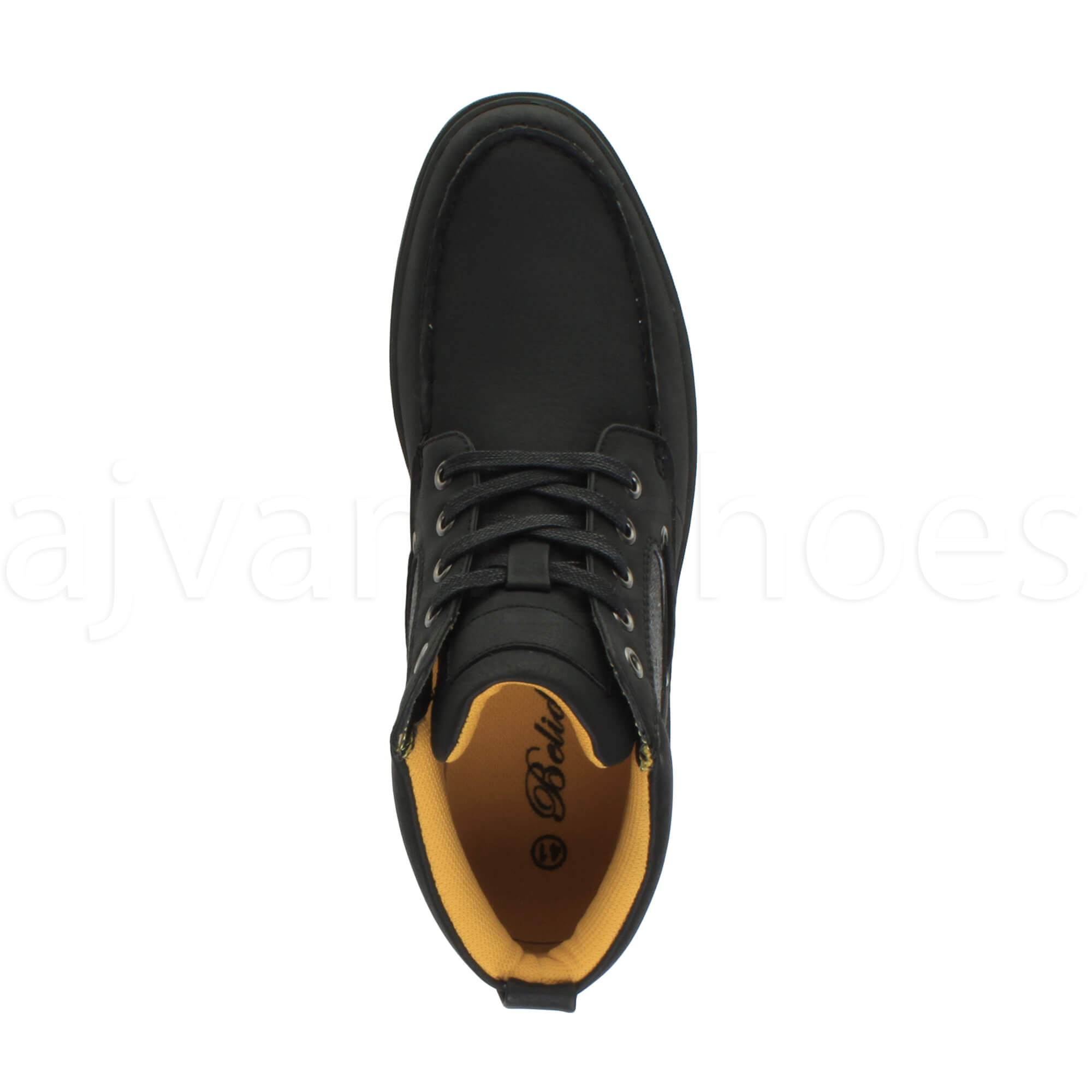 MENS-FLAT-LACE-UP-CASUAL-BOAT-CONTRAST-HI-TOP-TRAINERS-ANKLE-BOOTS-PUMPS-SIZE thumbnail 7