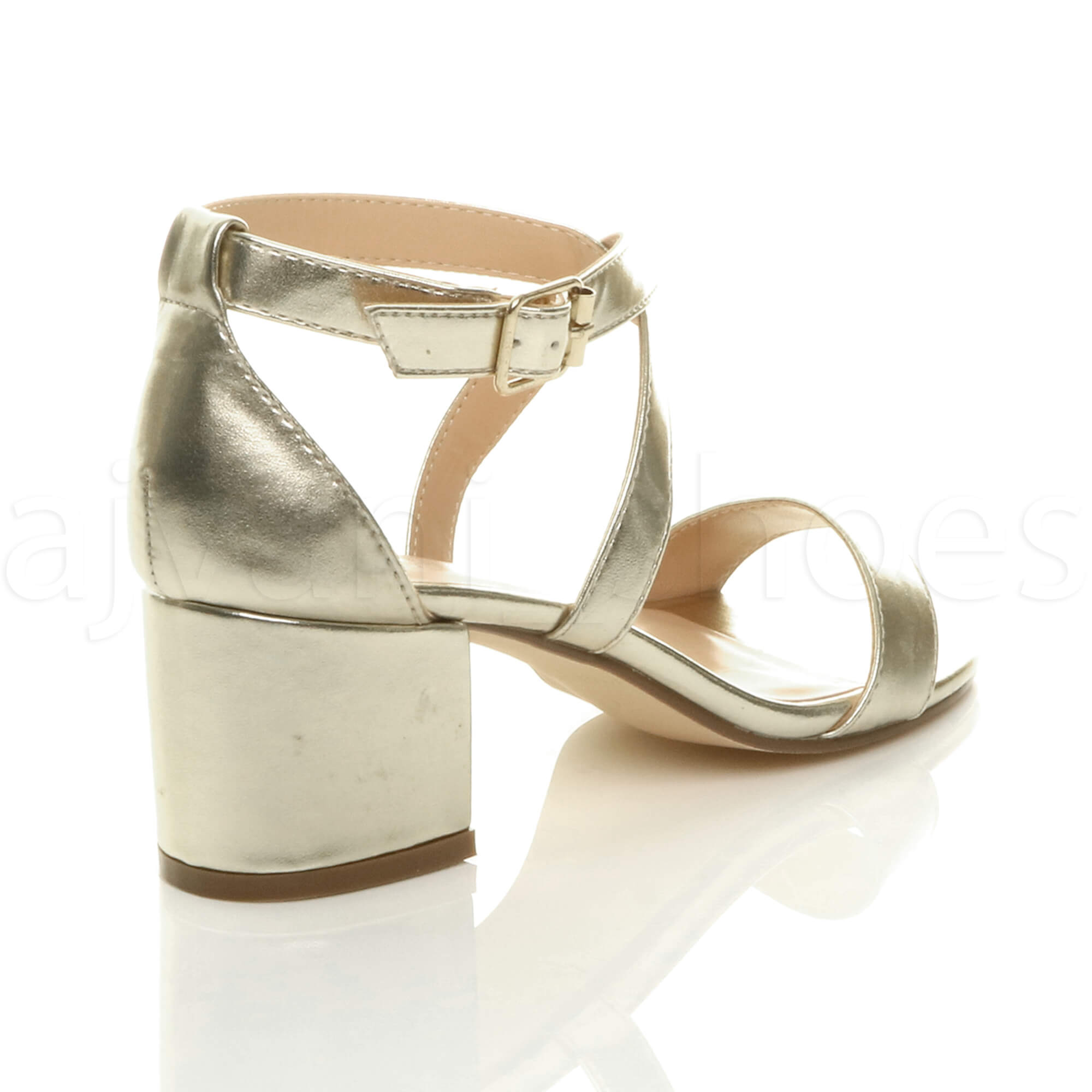 WOMENS-LADIES-MID-LOW-BLOCK-HEEL-CROSS-STRAPS-PARTY-STRAPPY-SANDALS-SHOES-SIZE thumbnail 32
