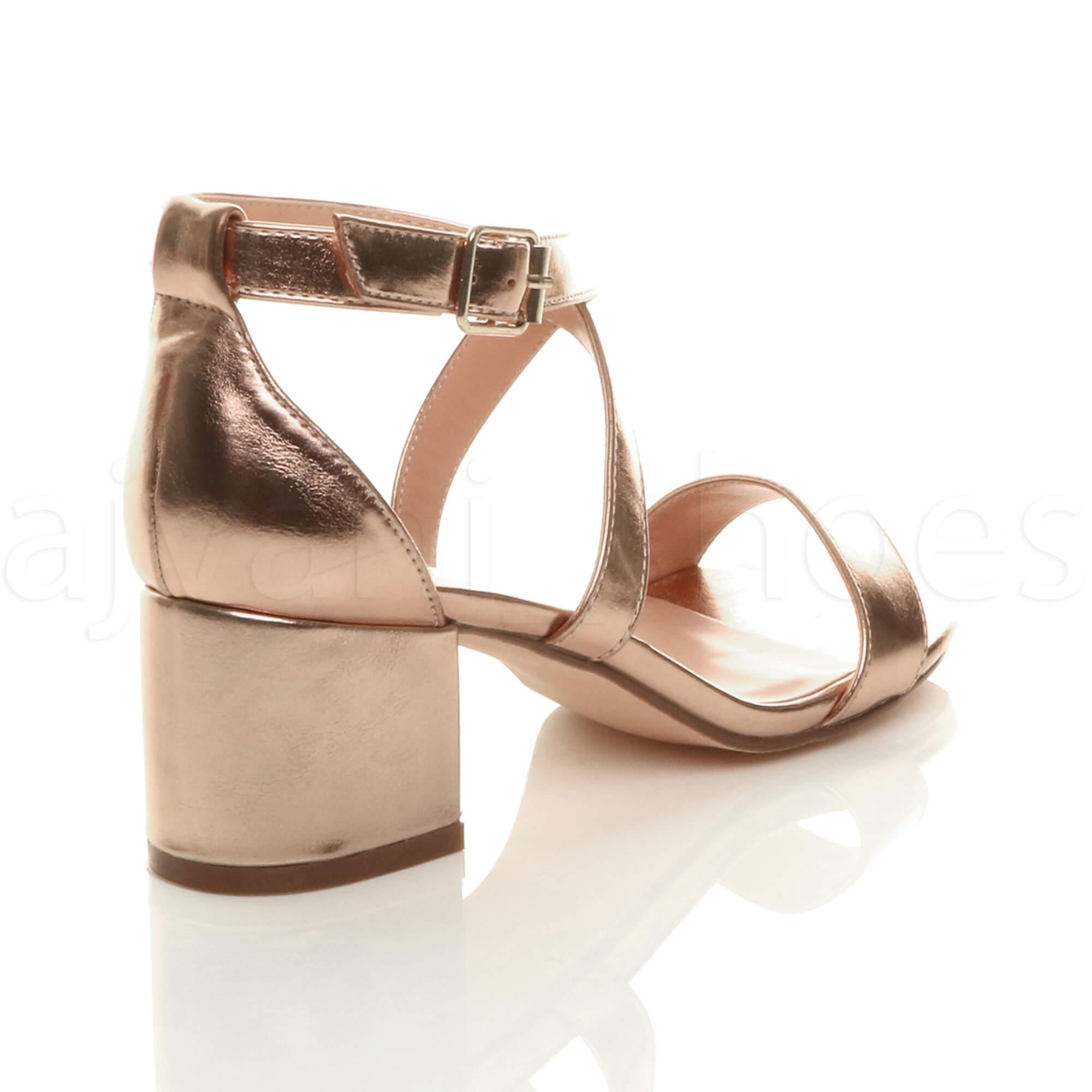 WOMENS-LADIES-MID-LOW-BLOCK-HEEL-CROSS-STRAPS-PARTY-STRAPPY-SANDALS-SHOES-SIZE thumbnail 72