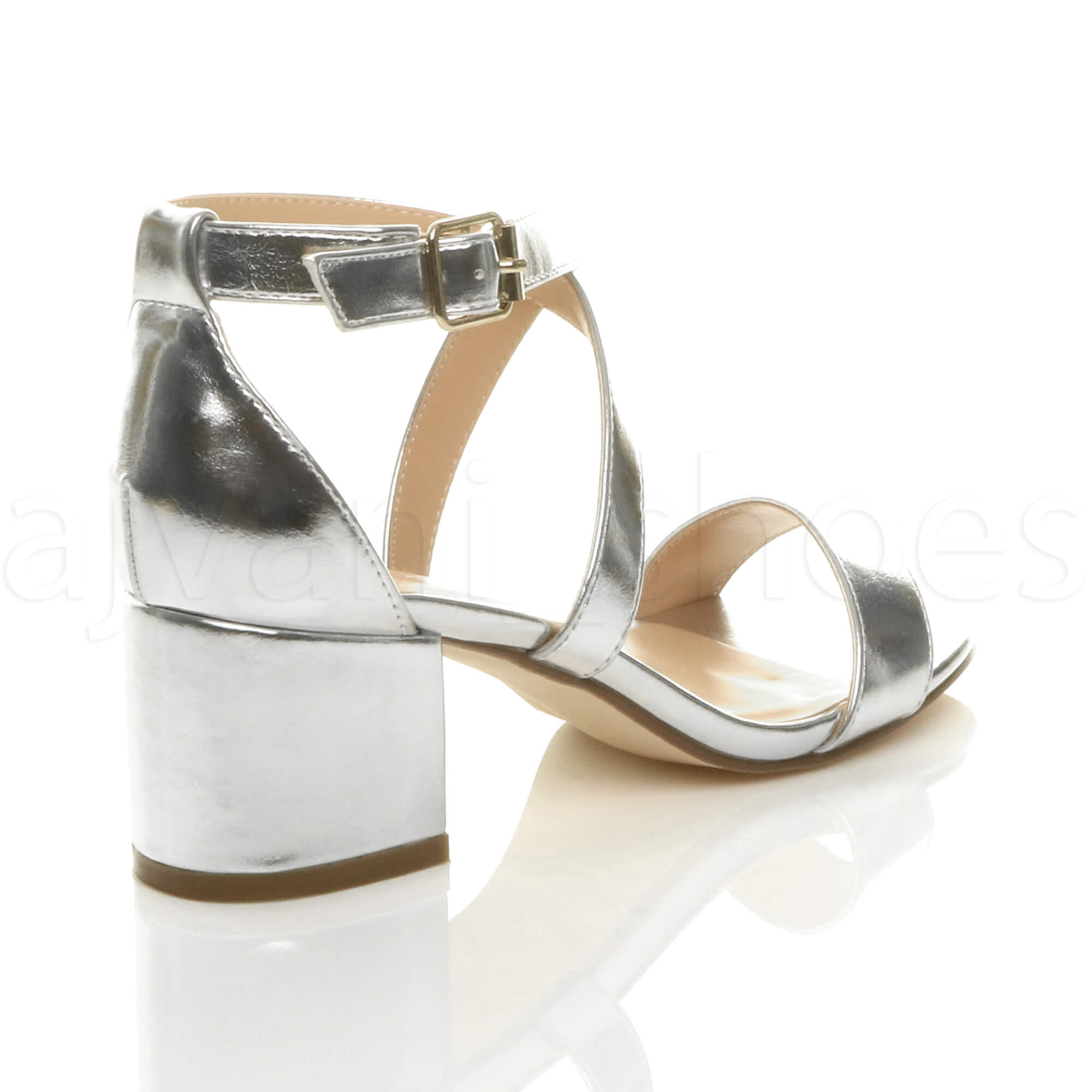 WOMENS-LADIES-MID-LOW-BLOCK-HEEL-CROSS-STRAPS-PARTY-STRAPPY-SANDALS-SHOES-SIZE thumbnail 81